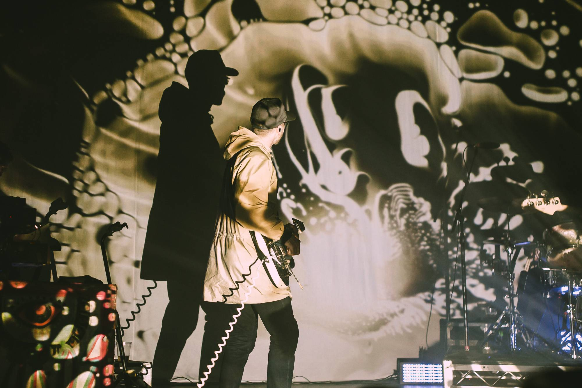 Portugal. The Man at the Vogue Theatre, Vancouver, Feb 02 2018. Kelli Anne photo.