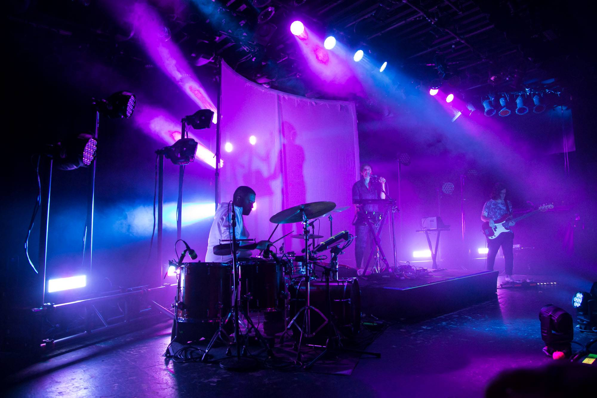 Tune-Yards at the Commodore Ballroom, Vancouver, Feb 27 2018. Kirk Chantraine photo.