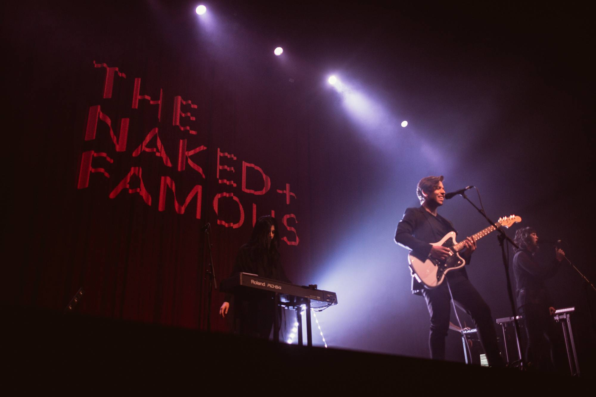 The Naked and Famous at the Rio Theatre, Vancouver, Mar 14 2018. Audrey Alexandrescu photo.