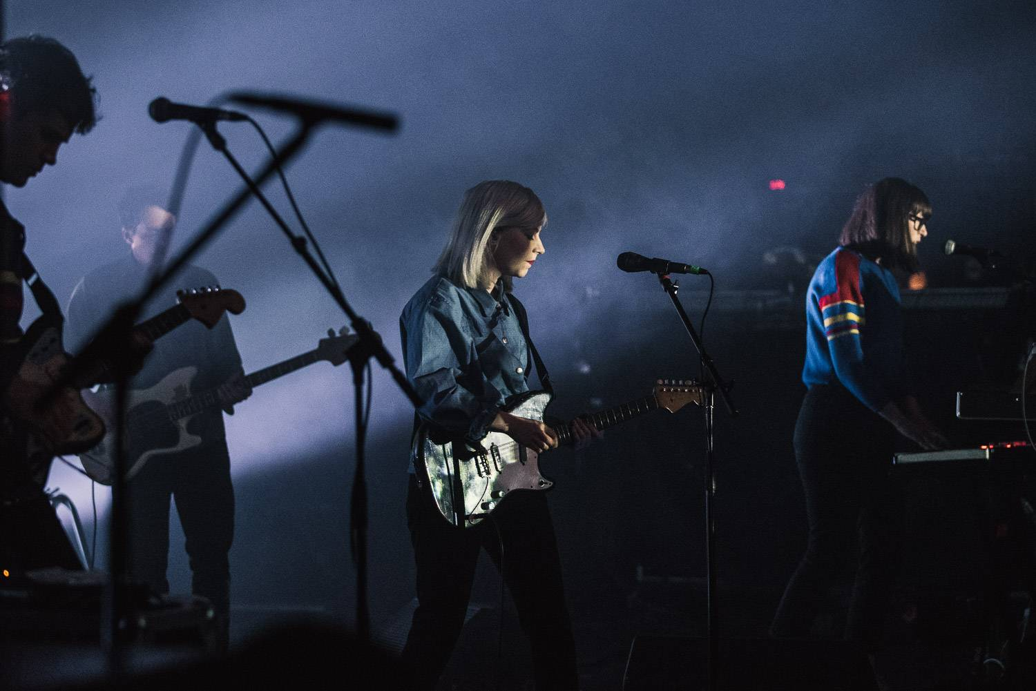 Alvvays at the Commodore Ballroom, Vancouver, 2018 April 4. Pavel Boiko photo.