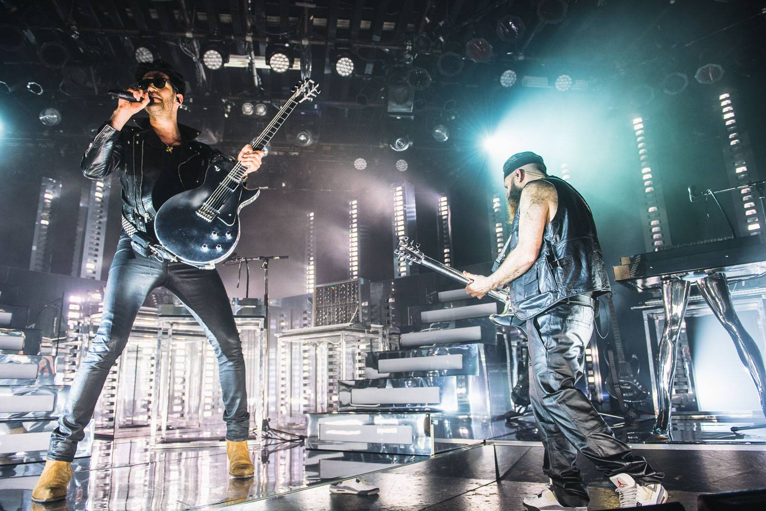 Photos - Chromeo at the Commodore Ballroom, Vancouver, April 3 2018. Pavel Boiko photo.