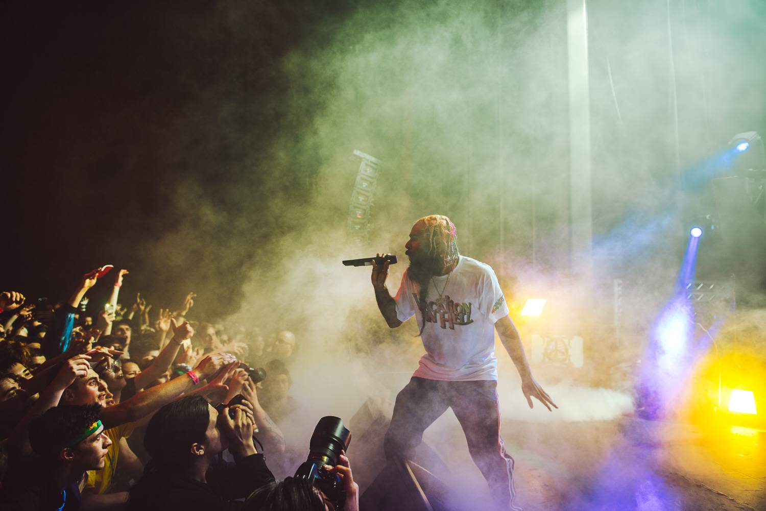 Flatbush Zombies at the Vogue Theatre, Vancouver, April 27 2018. Pavel Boiko photo.