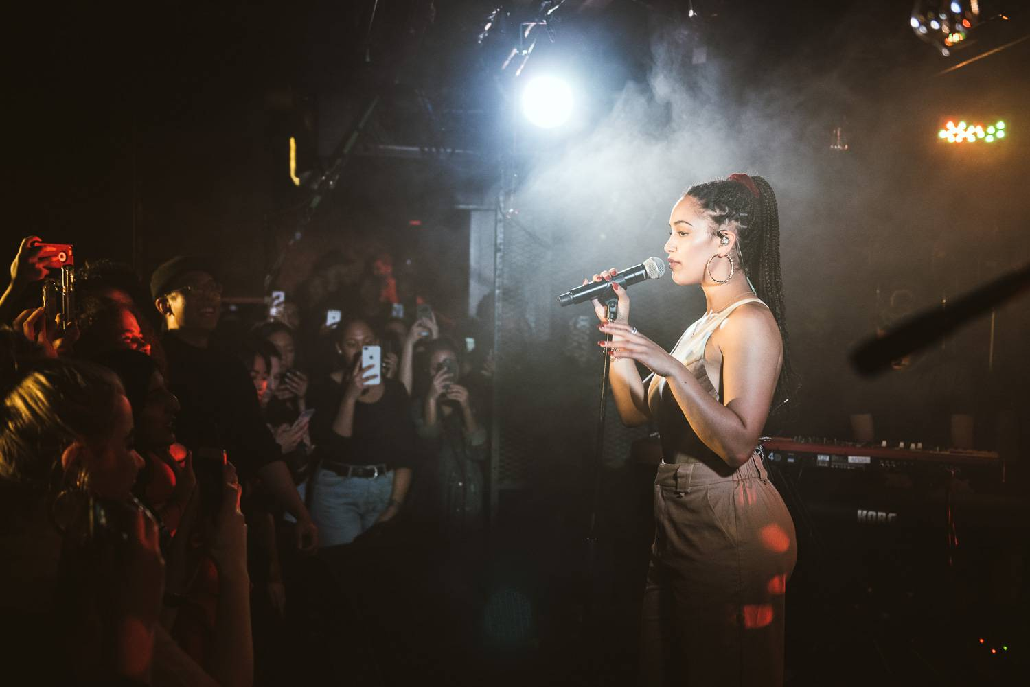 Jorja Smith at the Biltmore Cabaret, Vancouver, April 28 2018. Pavel Boiko photo.
