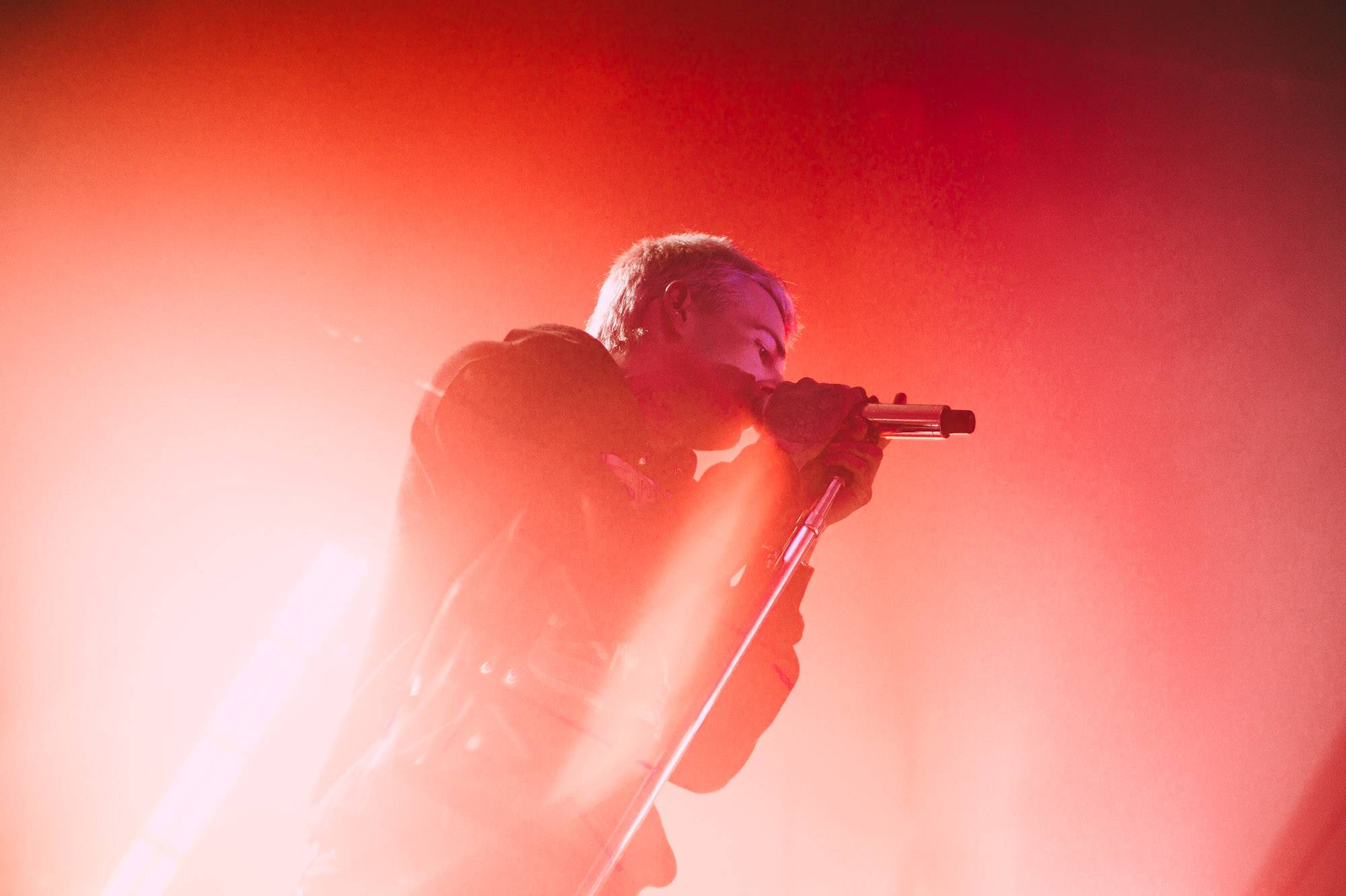 The Neighbourhood at the Vogue, Vancouver, April 10 2018. Kelli Anne photo.