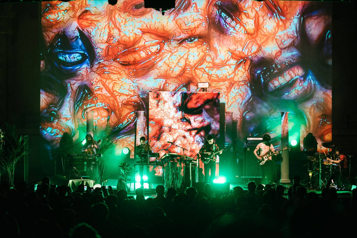 MGMT at the Orpheum Theatre, Vancouver, May 11 2018. Pavel Boiko photo.