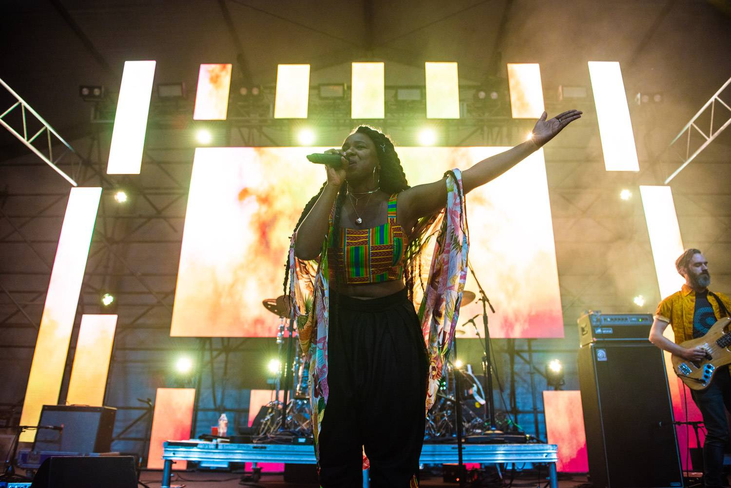 NAO at the Sasquatch Music Festival 2018 - Day 1, Gorge WA, May 25 2018. Pavel Boiko photo.