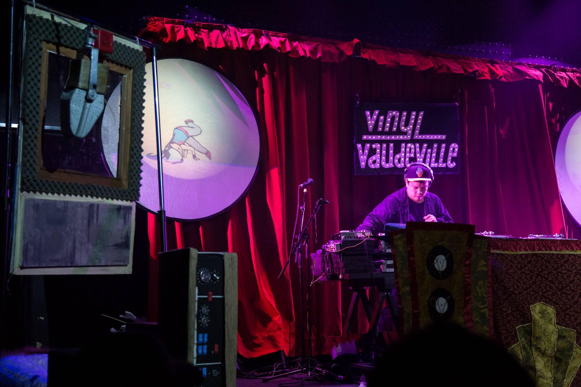 Kid Koala at Venue, Vancouver, May 4 2018. Kirk Chantraine photo.