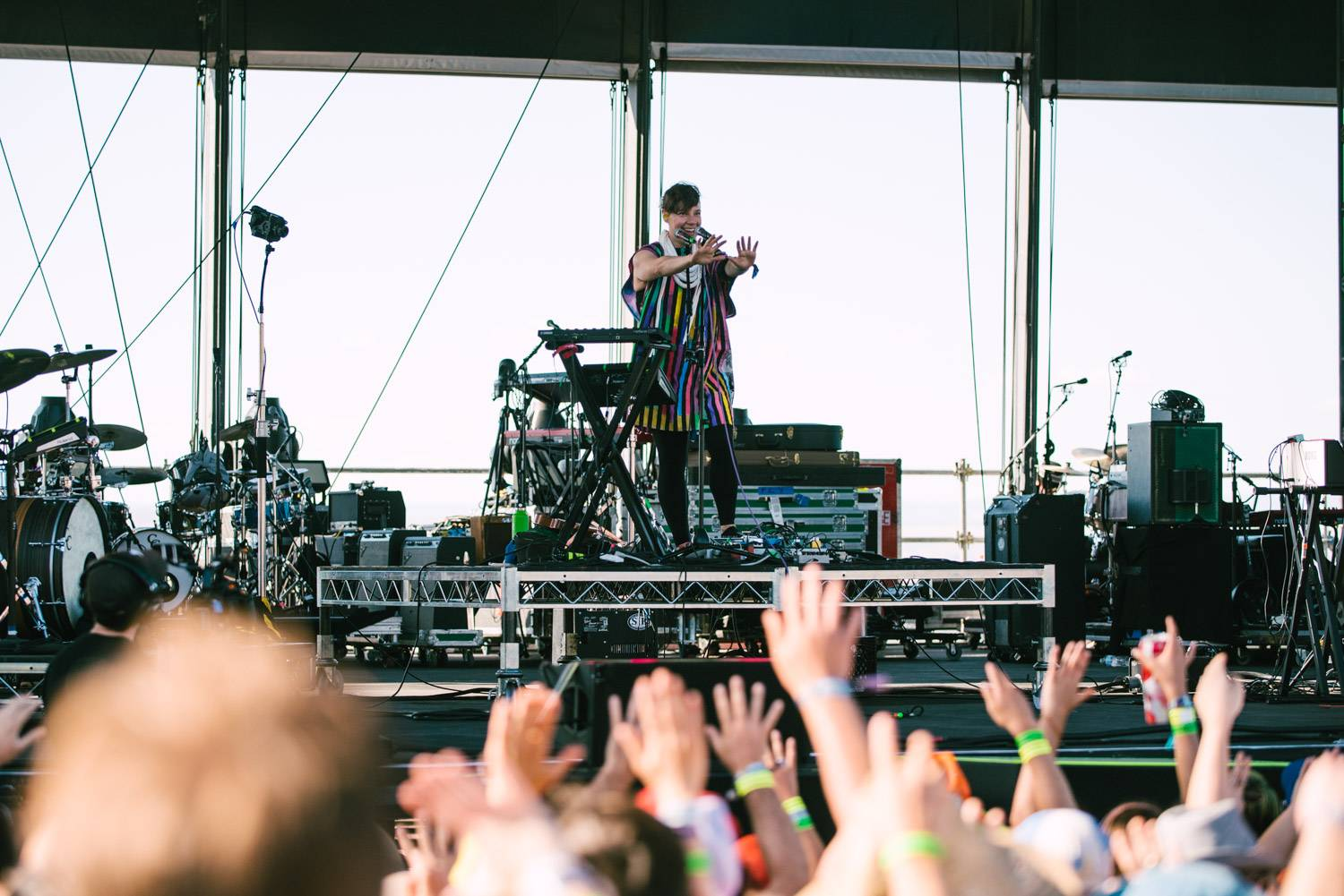 Tune-Yards at the Sasquatch Music Festival 2018 - Day 3, Gorge WA, May 27 2018. Pavel Boiko photo.