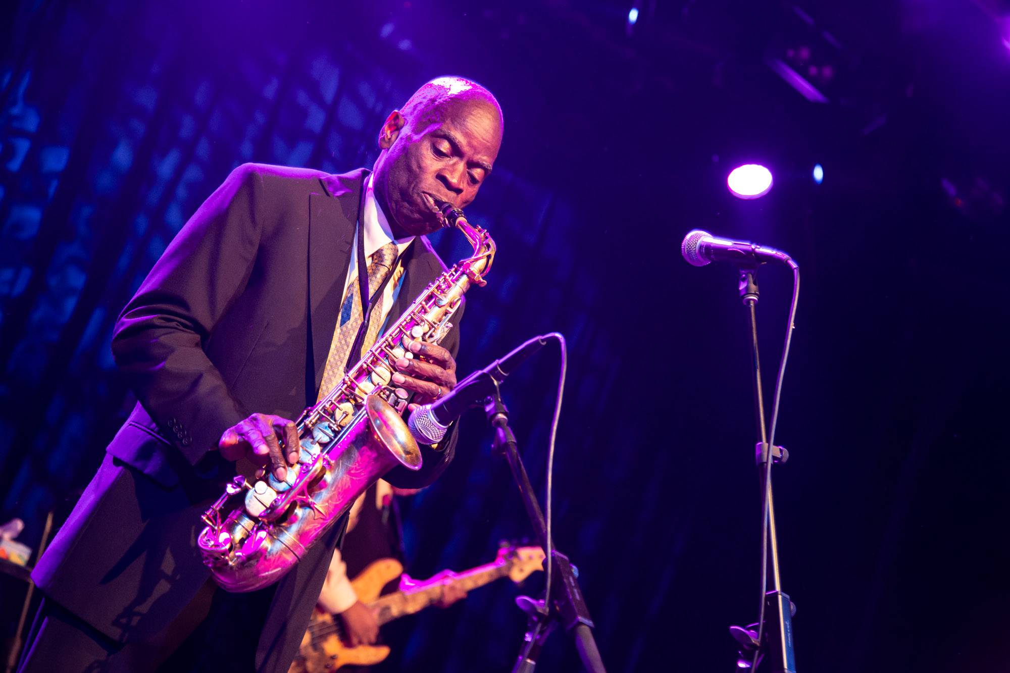 Maceo Parker at the Commodore Ballroom, Vancouver, Aug 21 2018. Kirk Chantraine photo.