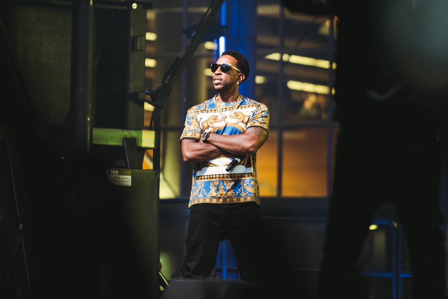 Ludacris at the Bumbershoot Music Festival 2018 - Day1. Aug 31 2018. Pavel Boiko photo.