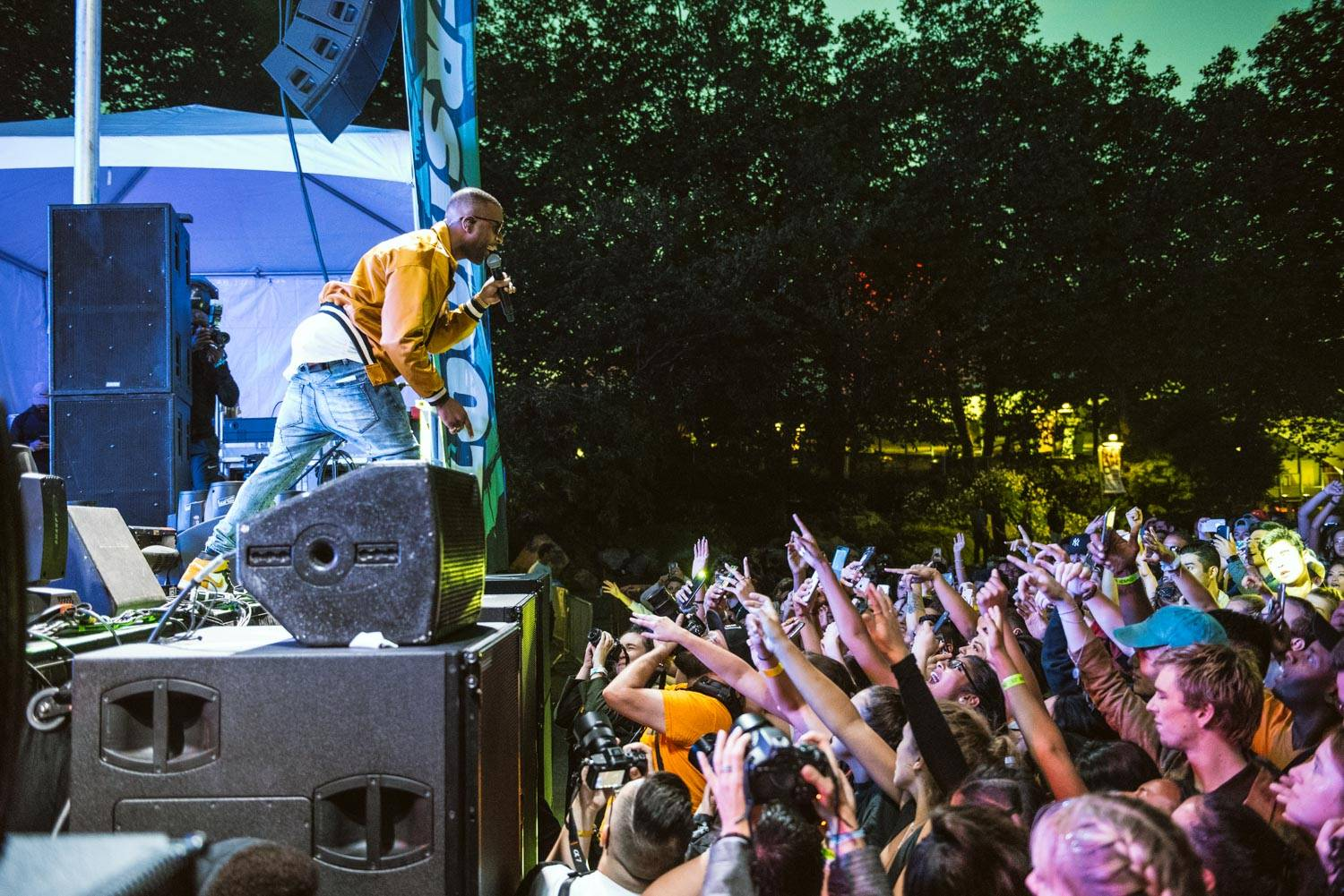 dvsn at the Bumbershoot Music Festival 2018 - Day 2. Sept 1 2018. Pavel Boiko photo.