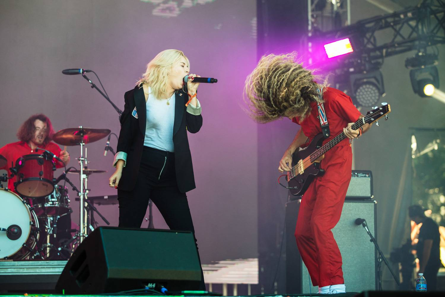 The Pink Slips at the Bumbershoot Music Festival 2018 - Day 3. Sept 2 2018. Pavel Boiko photo.