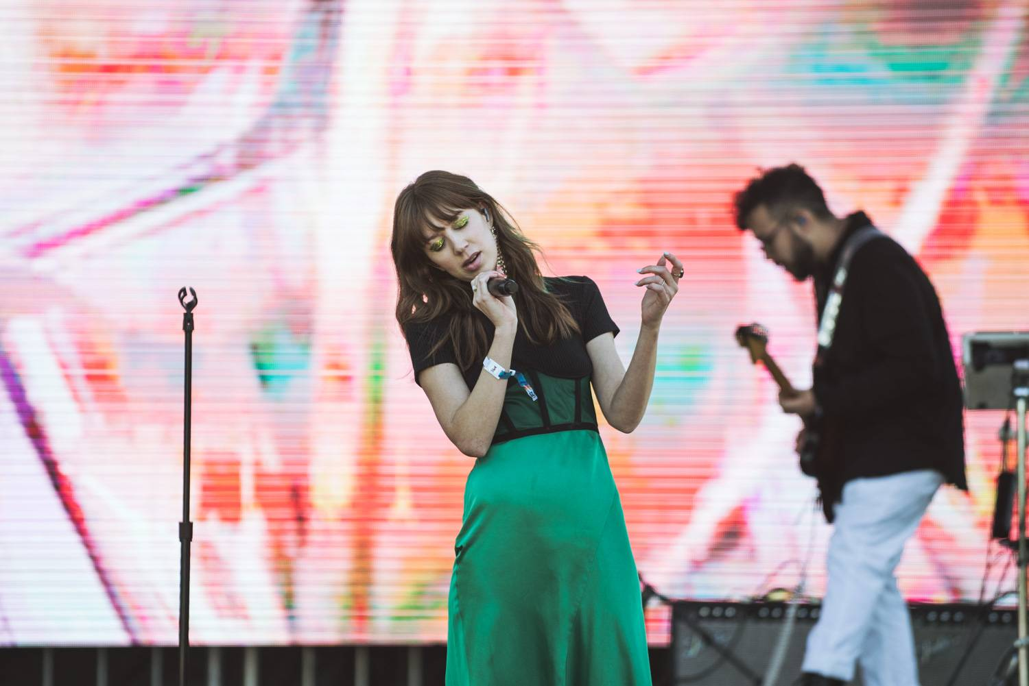 Ella Vos at the Bumbershoot Music Festival 2018 - Day 3. Sept 2 2018. Pavel Boiko photo.