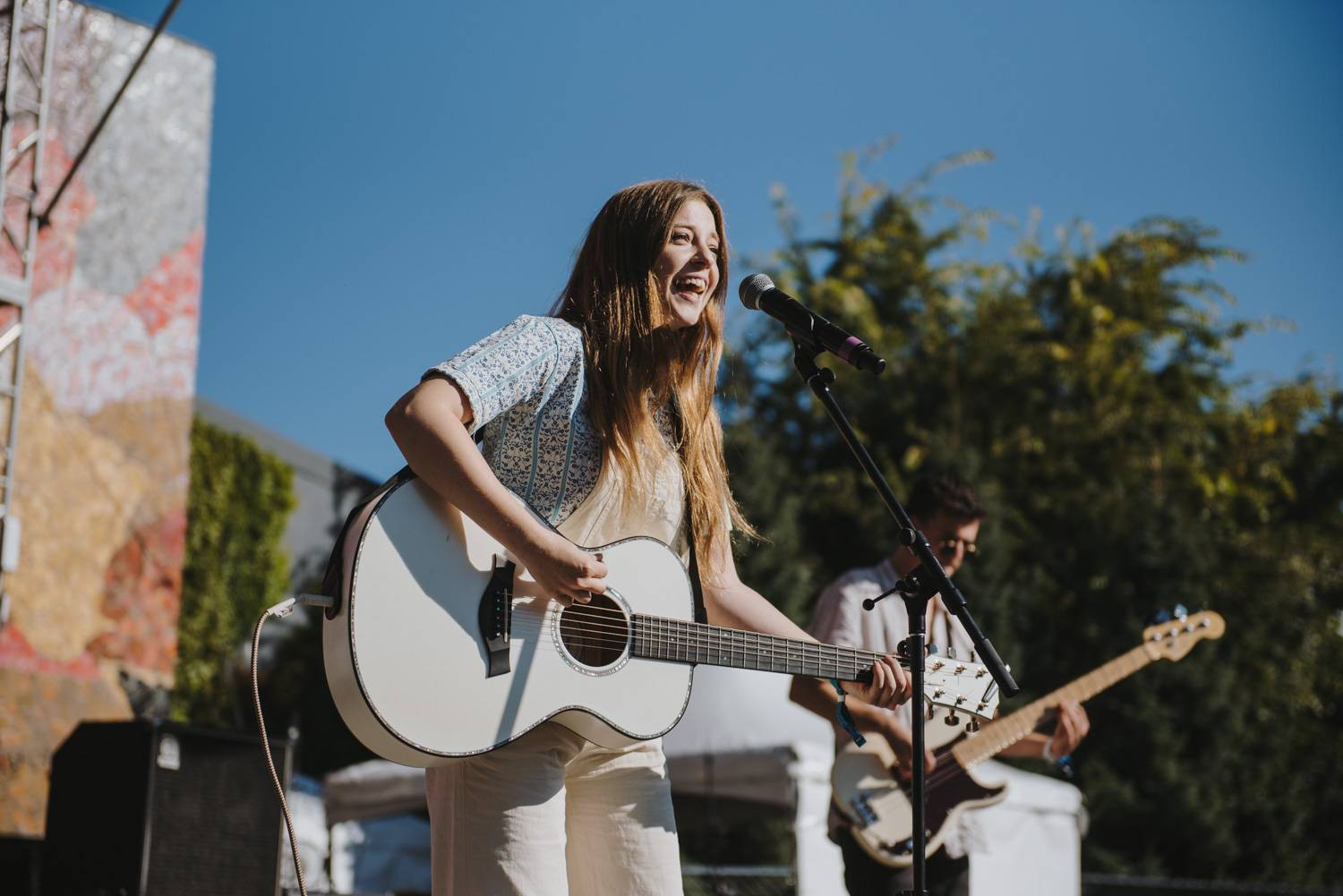 Jade Bird at the Bumbershoot Music Festival 2018 - Day 3. Sept 2 2018. Pavel Boiko photo.