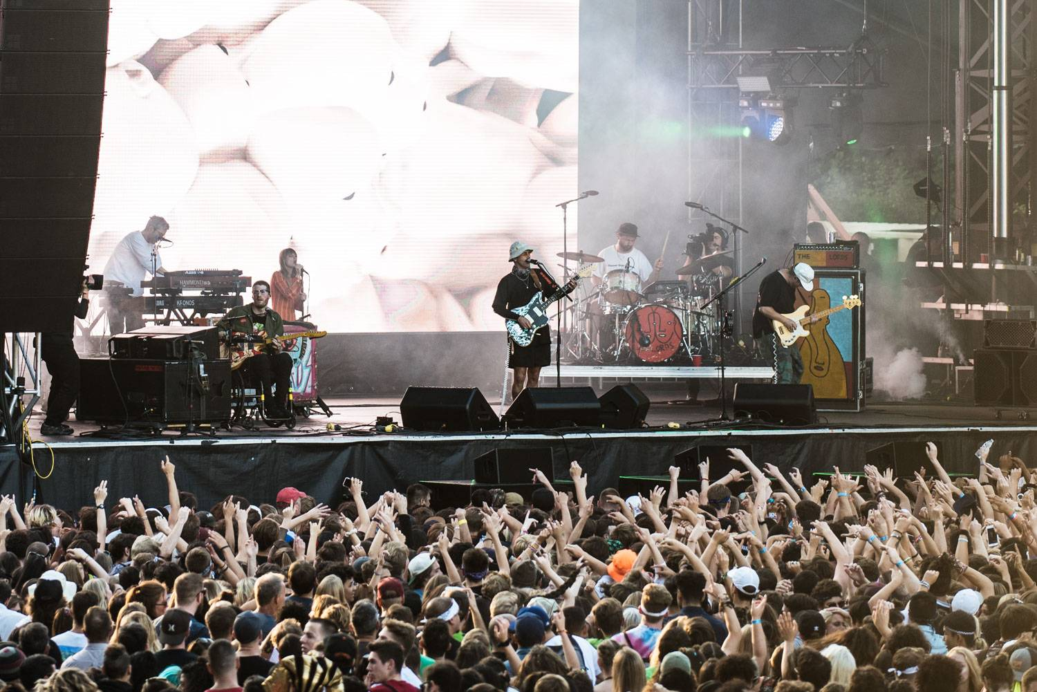 Portugal. The Man at the Bumbershoot Music Festival 2018 - Day 3. Sept 2 2018. Pavel Boiko photo.