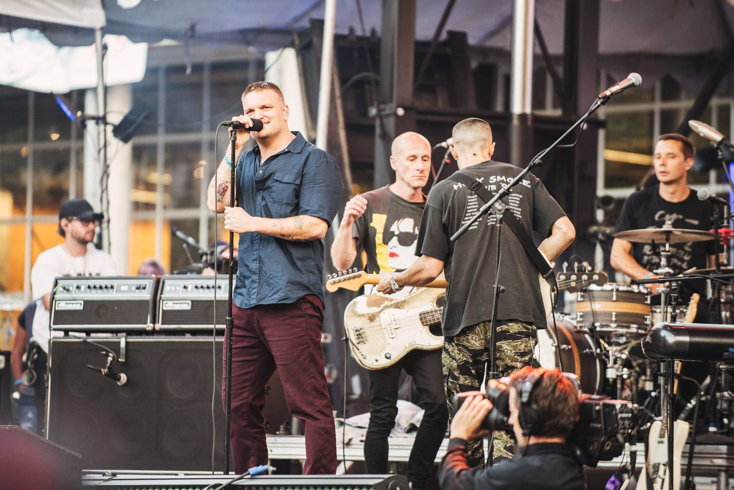 Cold War Kids at the Bumbershoot Music Festival 2018 - Day 3. Sept 2 2018. Pavel Boiko photo.