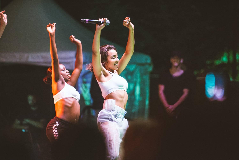 Tinashe at the Bumbershoot Music Festival 2018 - Day 3. Sept 2 2018. Pavel Boiko photo.