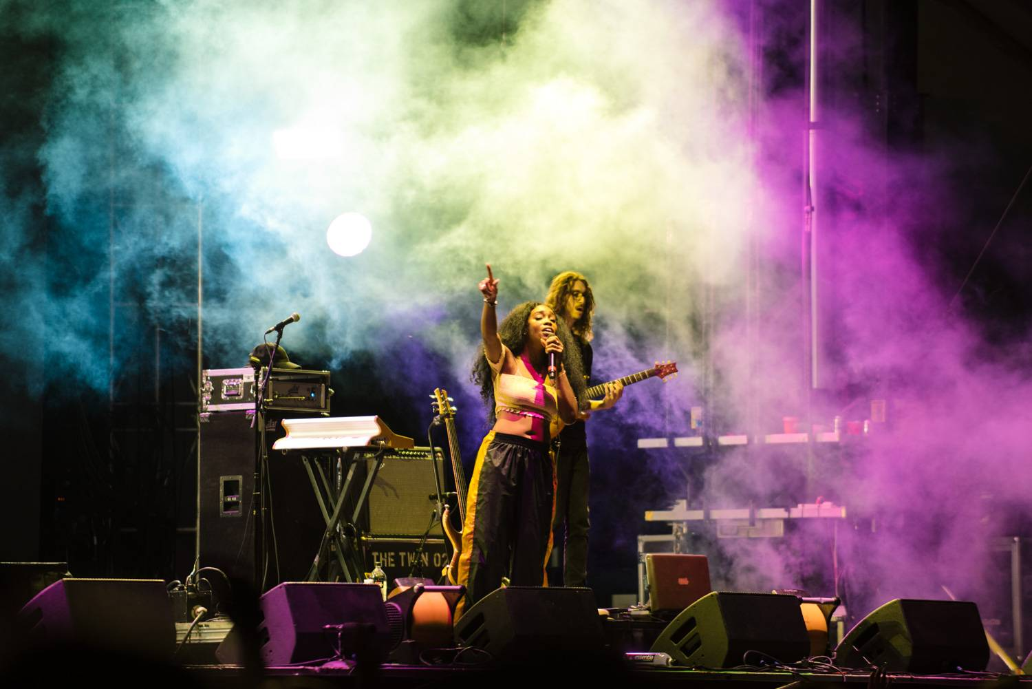 SZA at the Bumbershoot Music Festival 2018 - Day 3. Sept 2 2018. Pavel Boiko photo.