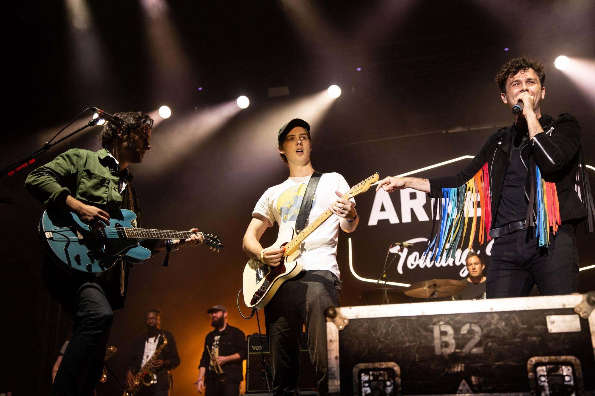 Arkells at Skookum Festival, Vancouver, Sep 7 2018. Kirk Chantraine photo.