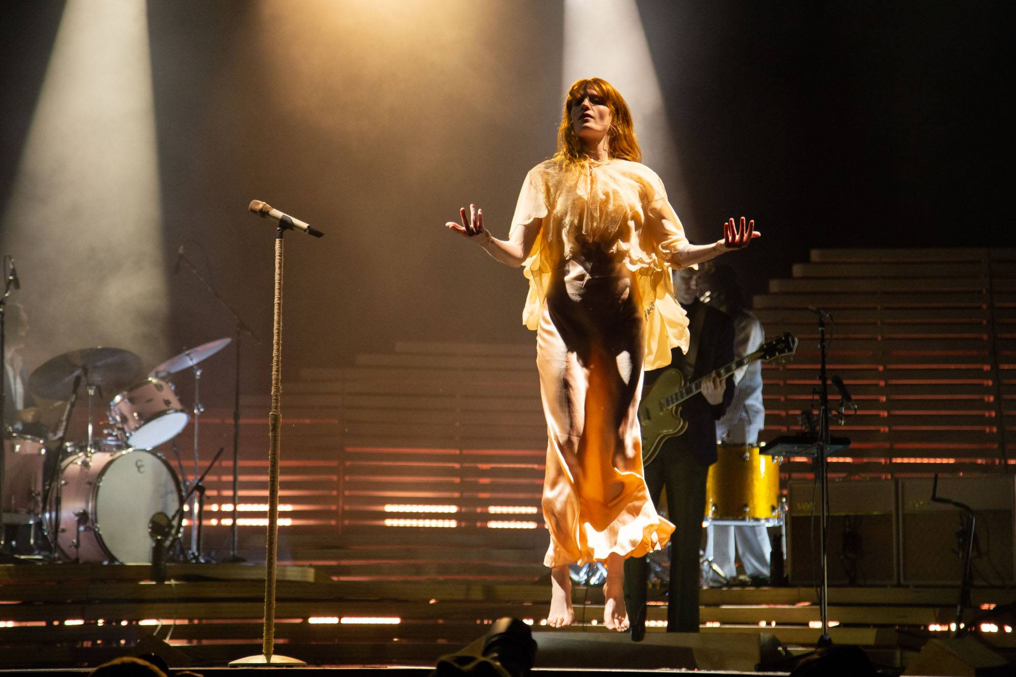 Florence And The Machine at Skookum Festival, Vancouver, Sep 8 2018. Kirk Chantraine photo.