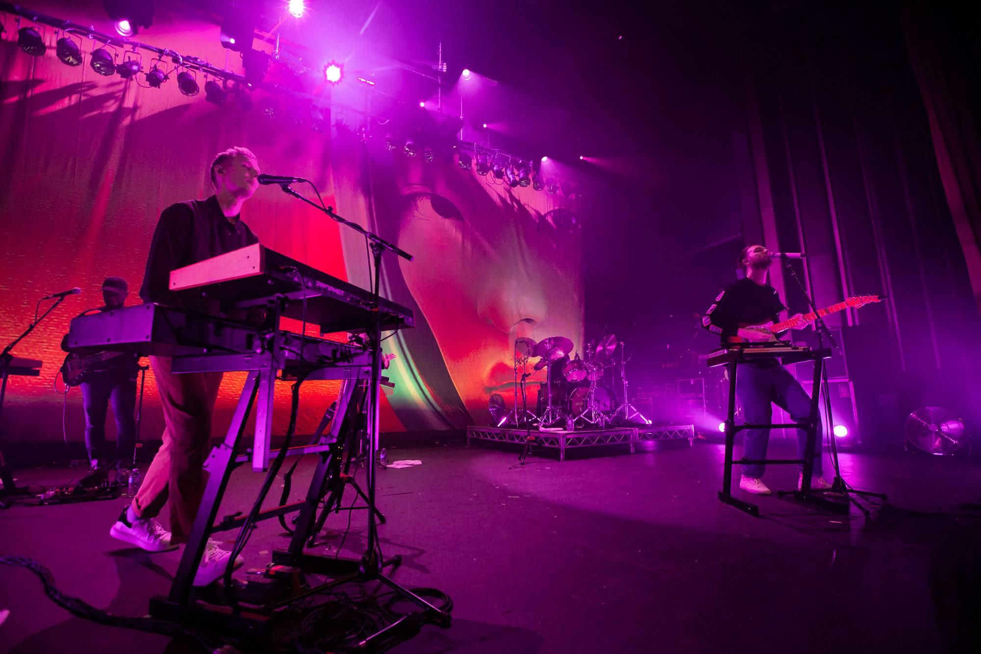 HONNE at Westward Festival, Vancouver, Sep 13 2018. Kirk Chantraine photo.