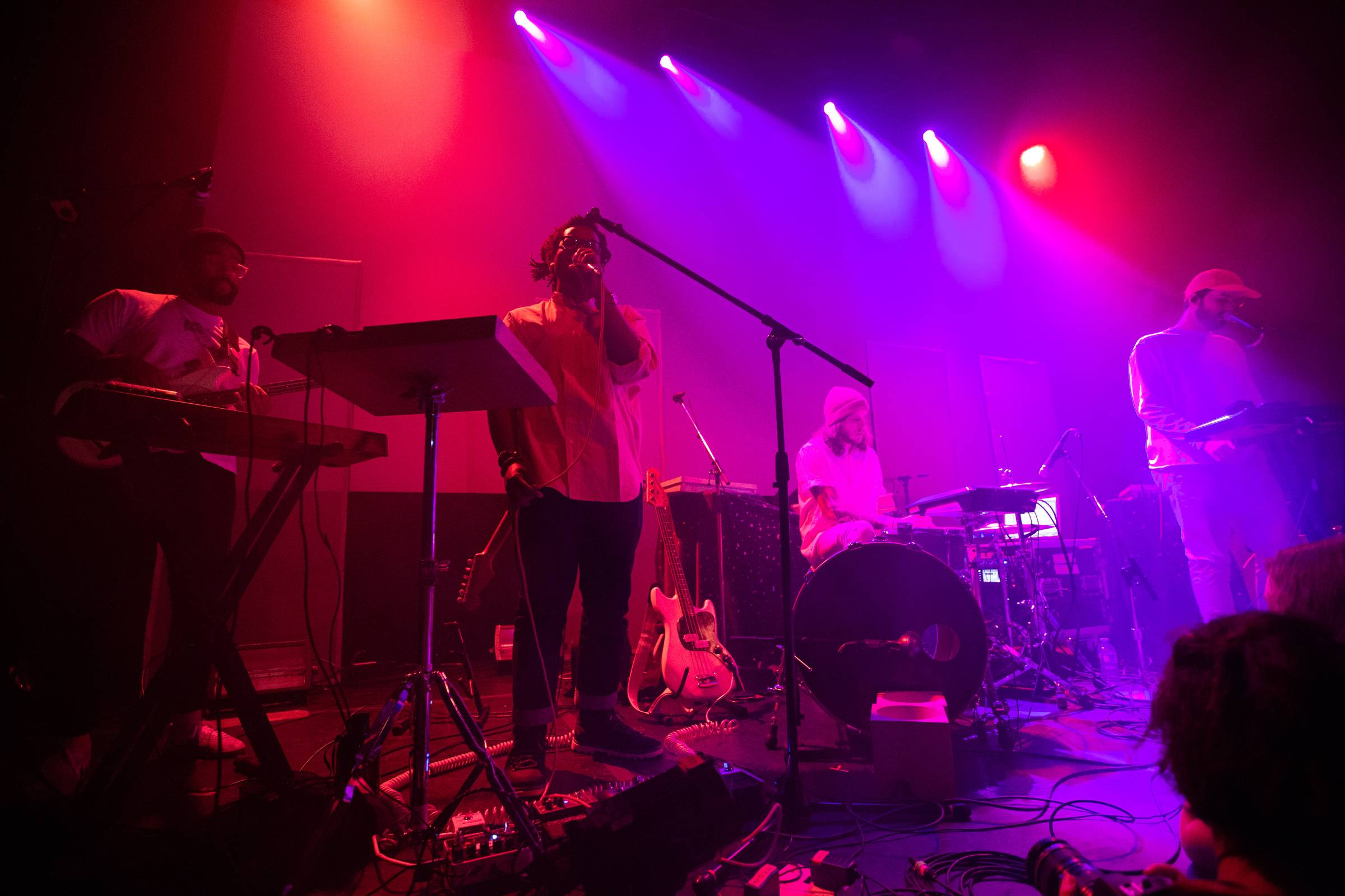 YUNO at the Imperial, Vancouver, Aug 31 2018. Kirk Chantraine photo.