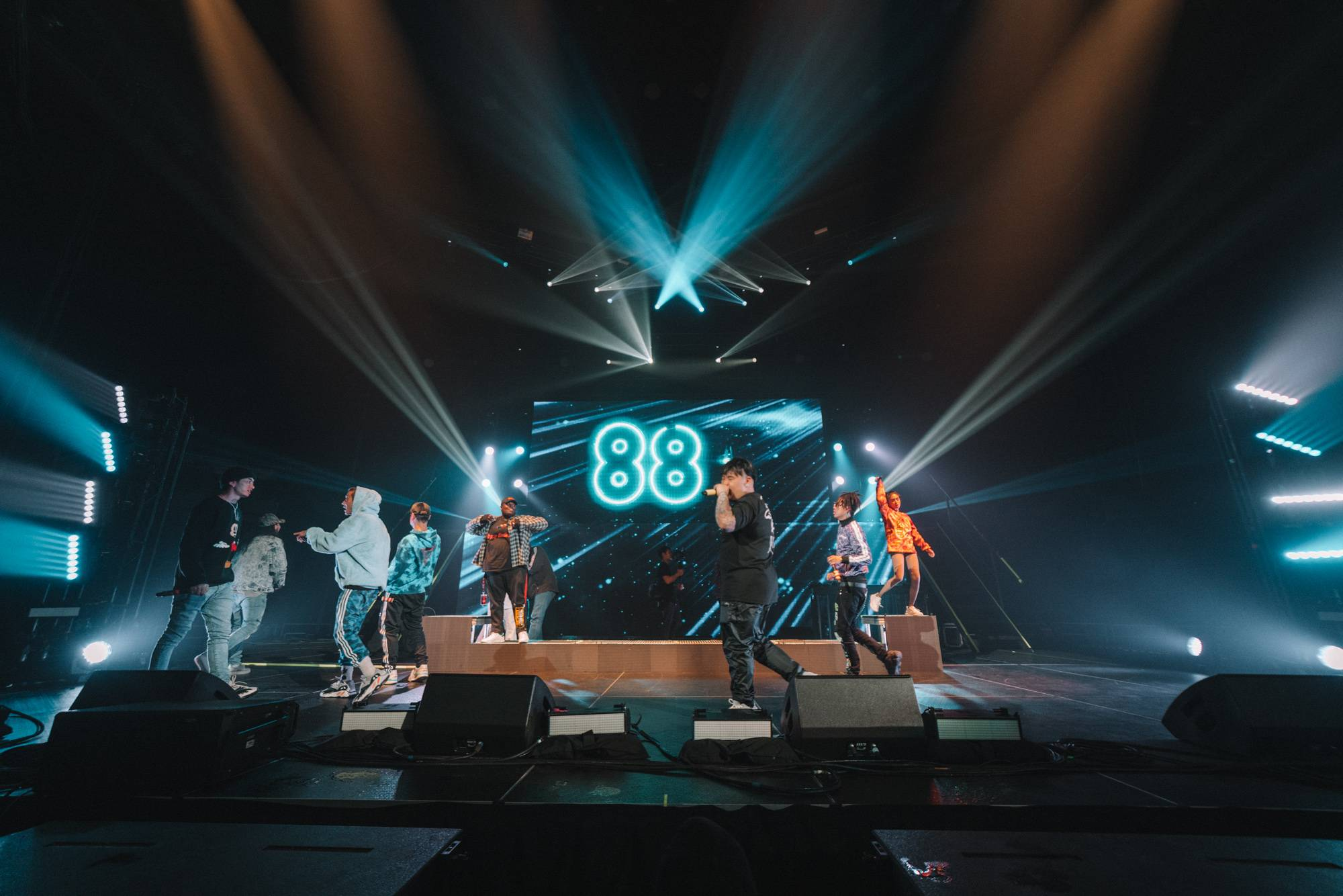 88RISING at the Pacific Coliseum, Vancouver, Oct 26 2018. Noah Shumka photo.