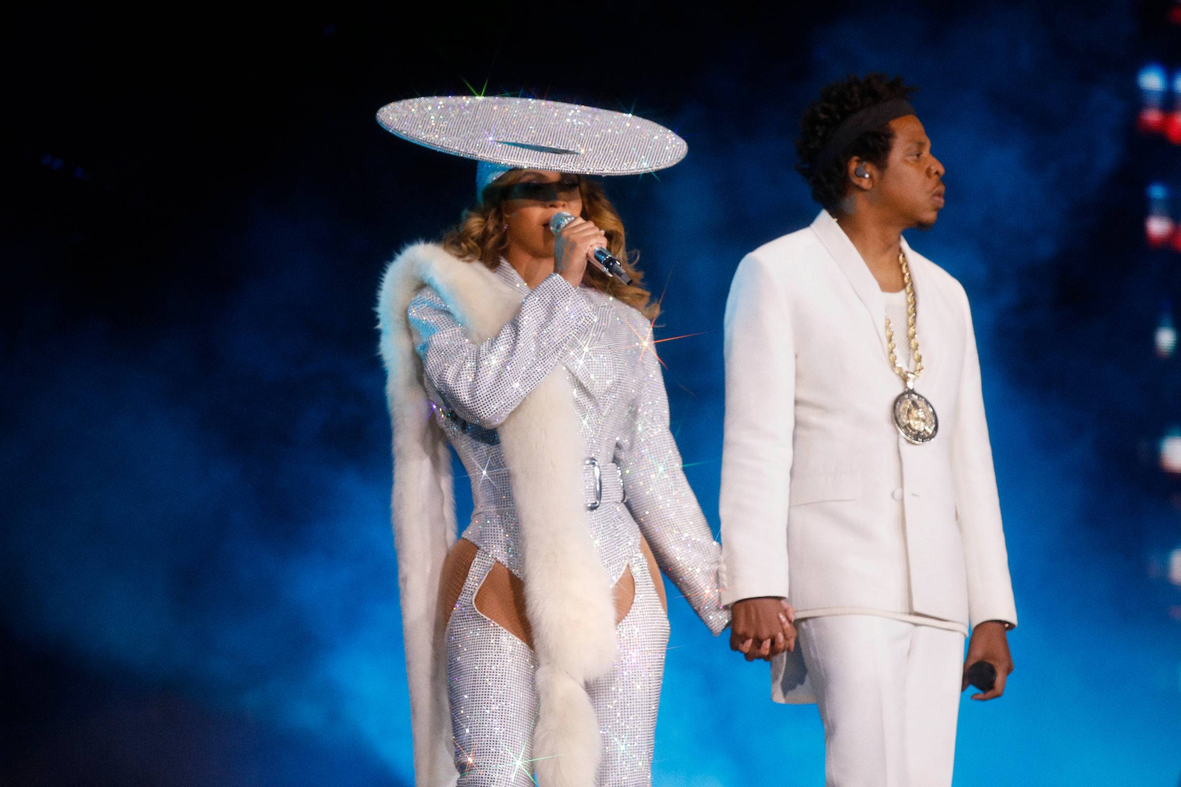 Beyonce and Jay-Z at BC Place Stadium, Vancouver, Oct. 2 2018