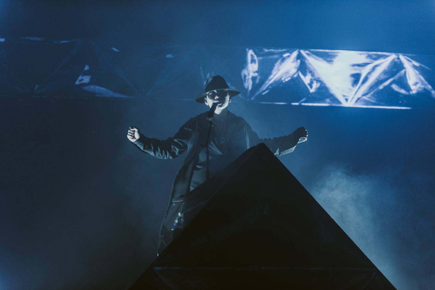 ZHU at the Vogue Theatre, Vancouver, Oct 15 2018. Pavel Boiko photo.