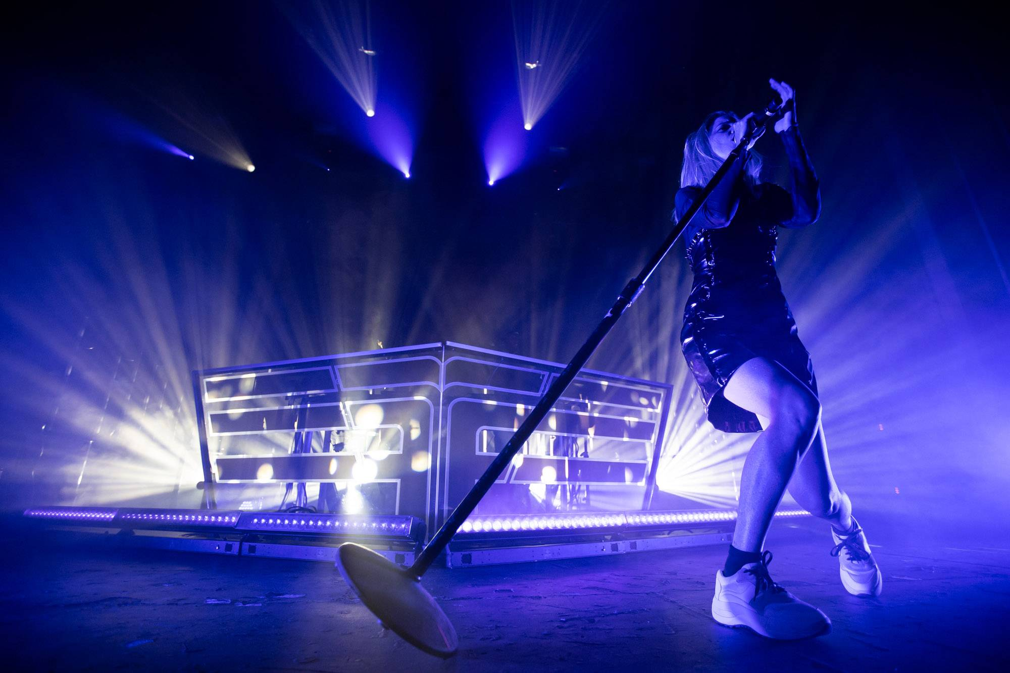 Flight Facilities at the Vogue Theatre, Vancouver, Oct 4 2018. Kirk Chantraine photo.