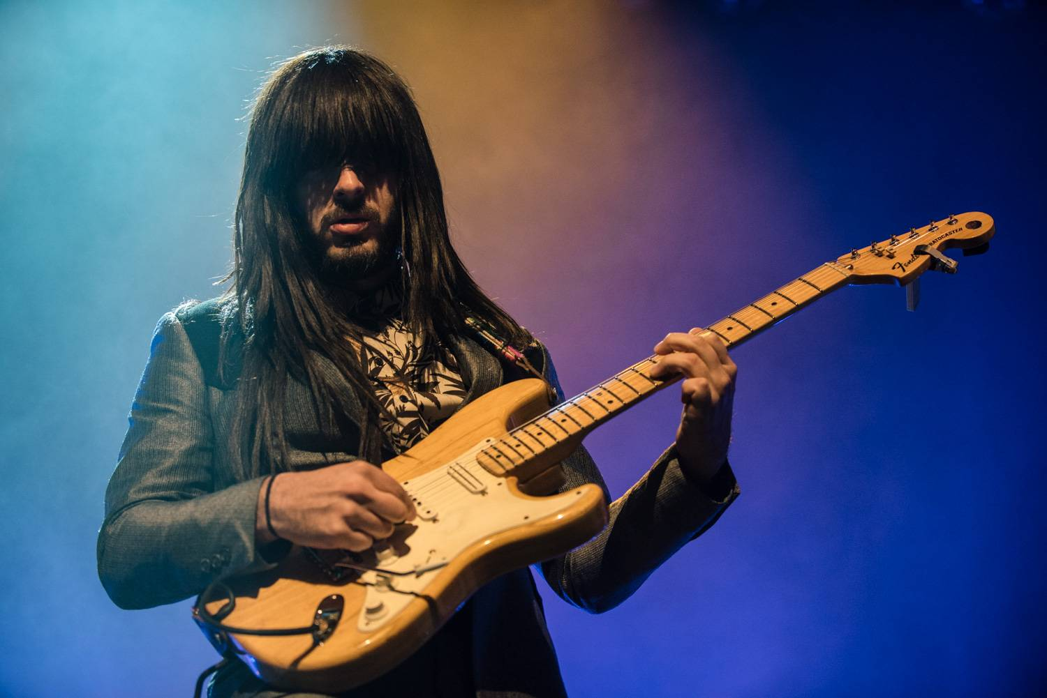 Khruangbin at the Vogue Theatre, Vancouver, Nov 18 2018. Pavel Boiko photo.