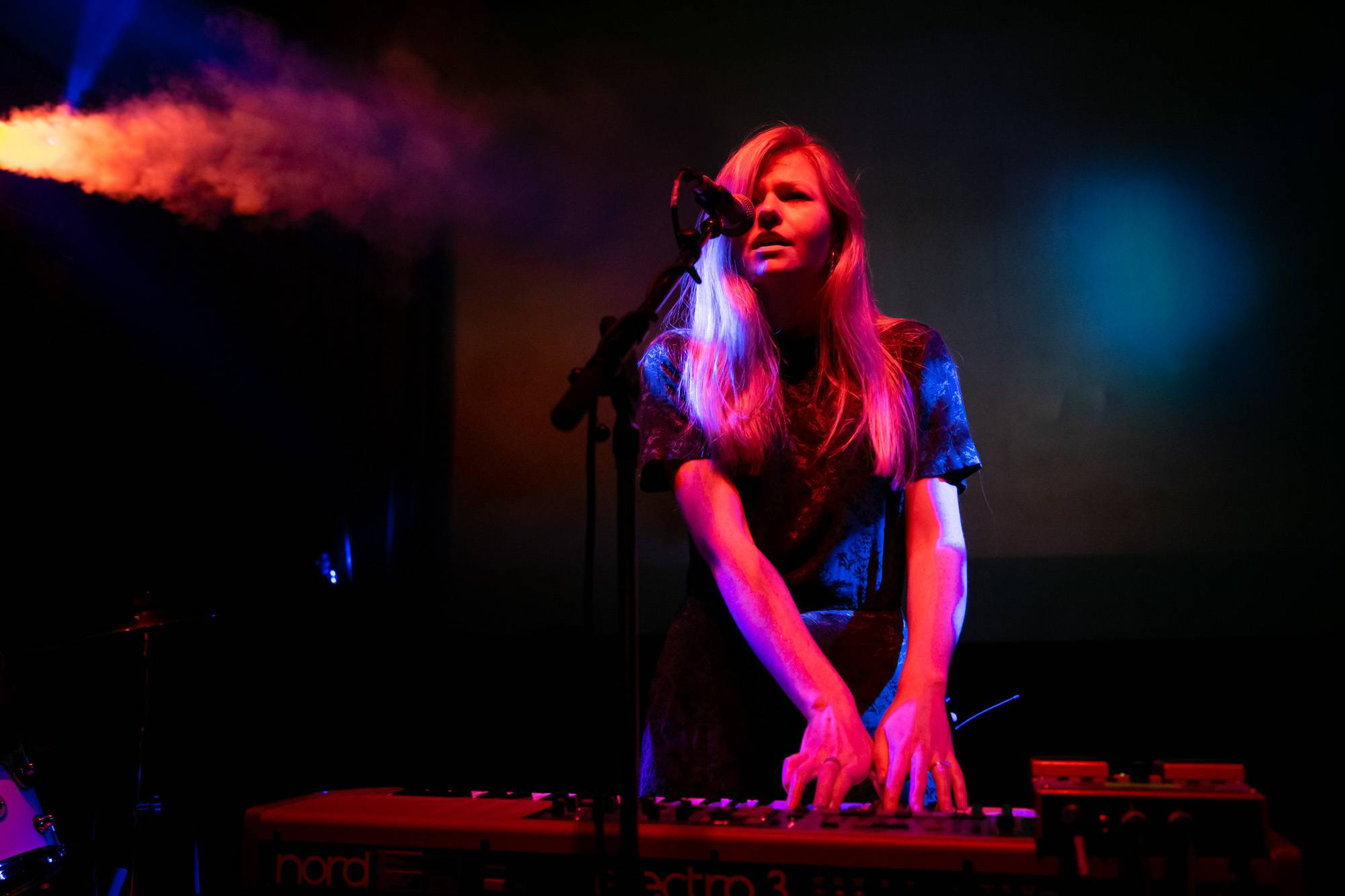 Still Corners at the Fox Cabaret, Vancouver, Nov 6 2018. Kirk Chantraine photo.