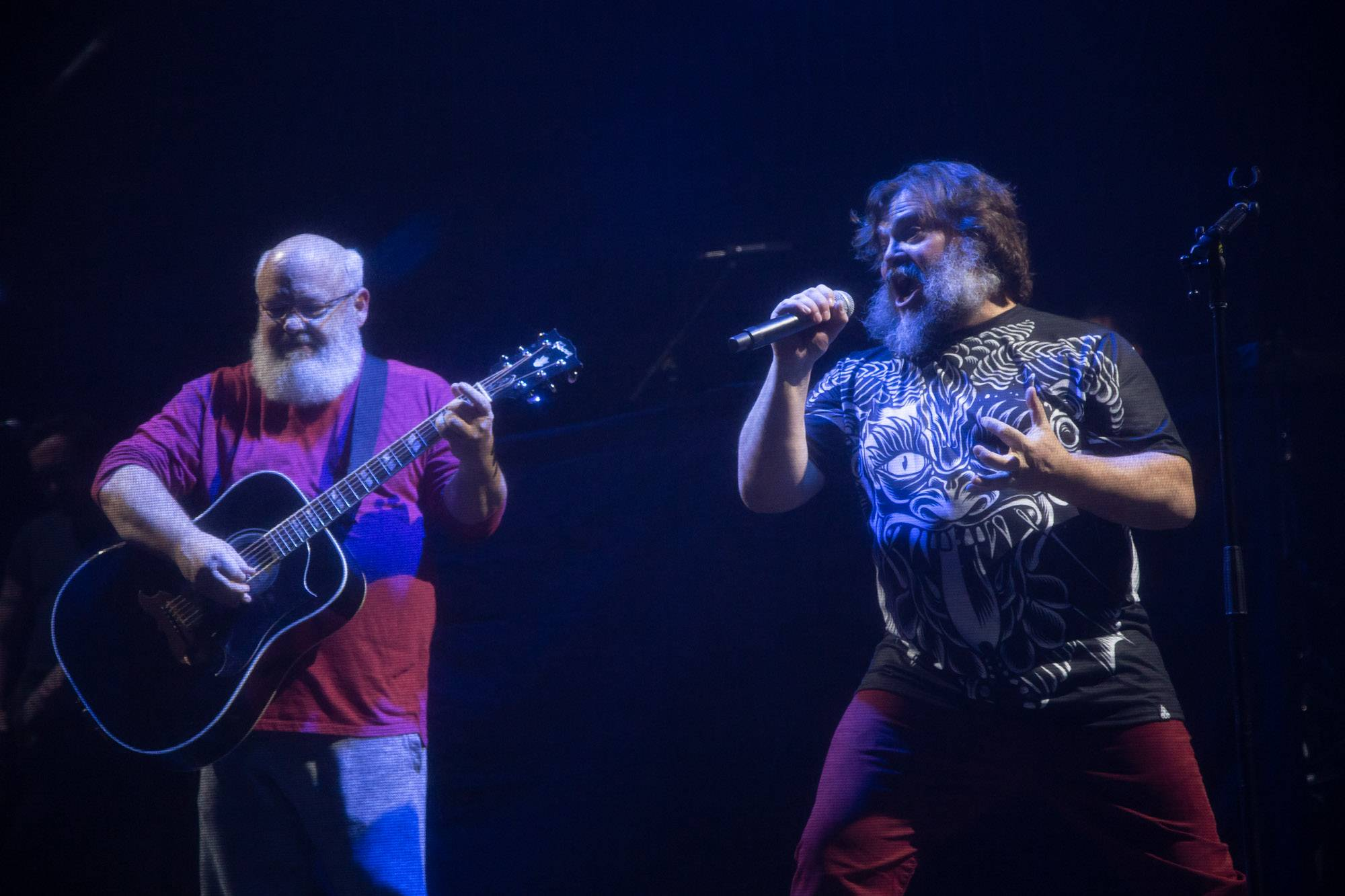 Tenacious D at the Queen Elizabeth Theatre, Vancouver, Dec 13 2018. Kirk Chantraine photo.