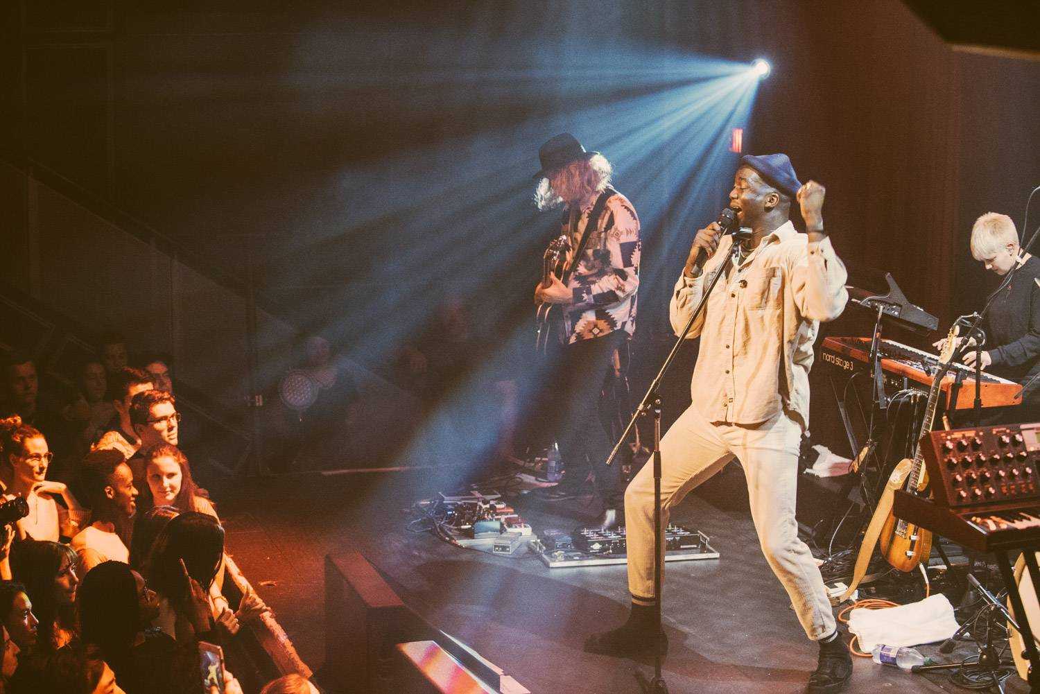 Jacob Banks at the Venue, Vancouver, Jan 19 2019. Pavel Boiko photo.