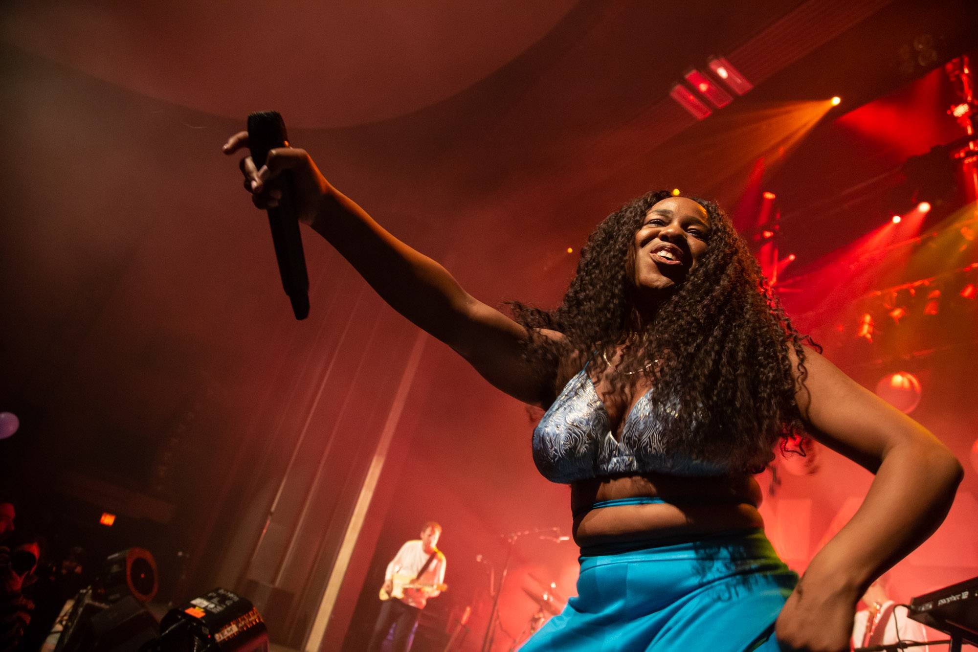 Nao at the Vogue Theatre, Vancouver, Jan 12 2019. Kirk Chantraine photo.
