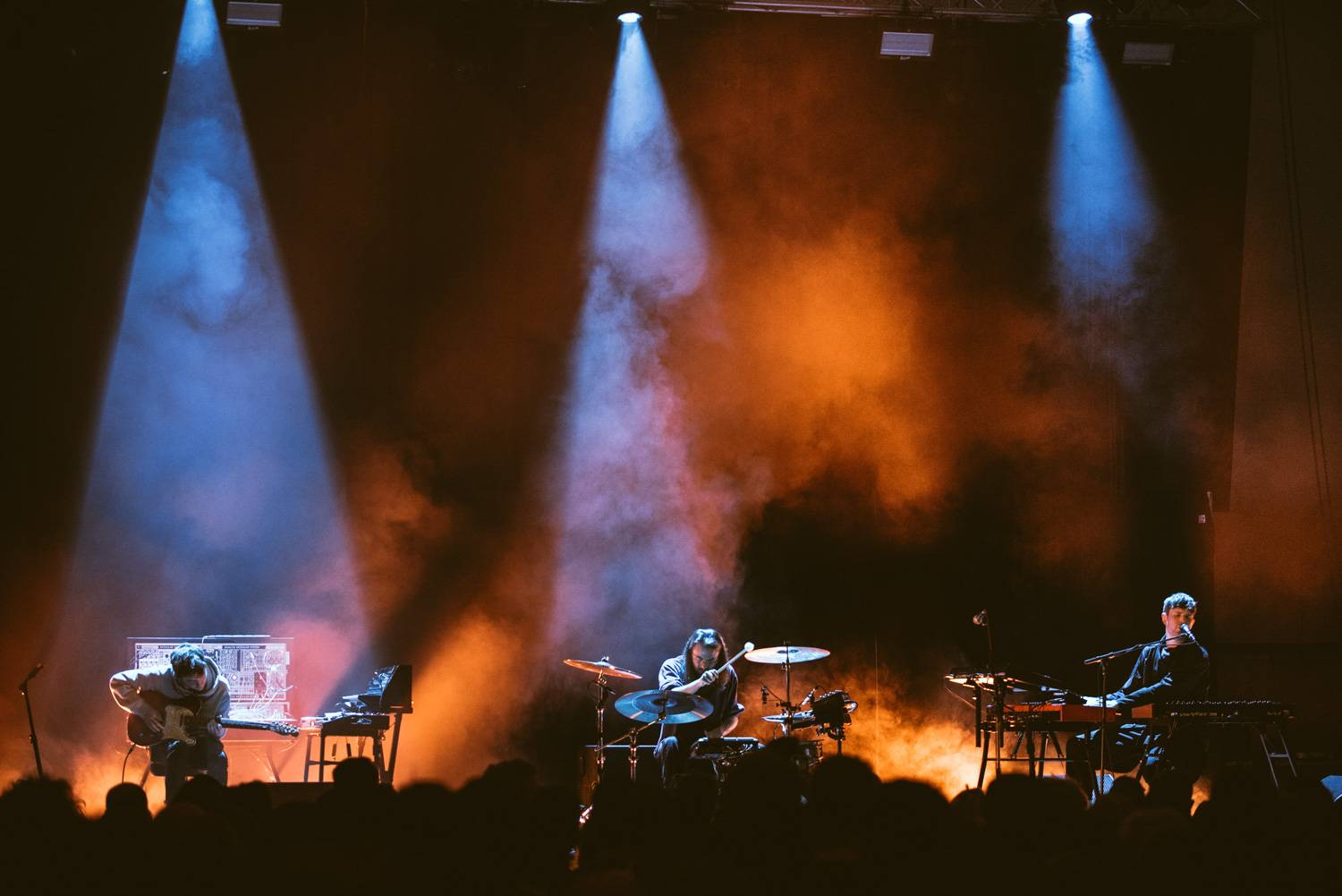 James Blake at the Harbour Convention Center, Vancouver, Mar 23 2019. Pavel Boiko photo.