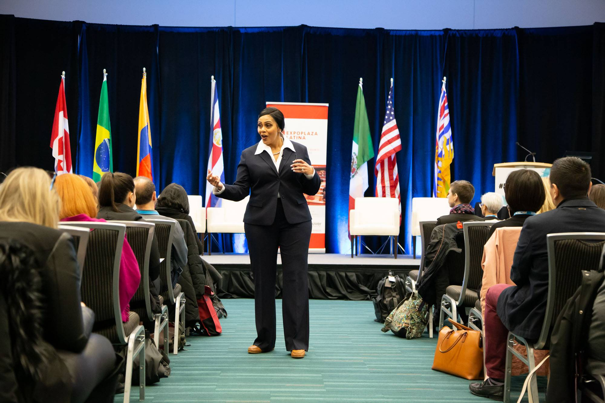 BC Tech Summit 2019 Day One, Vancouver Convention Centre, Mar 11 2019. Kirk Chantraine photo.