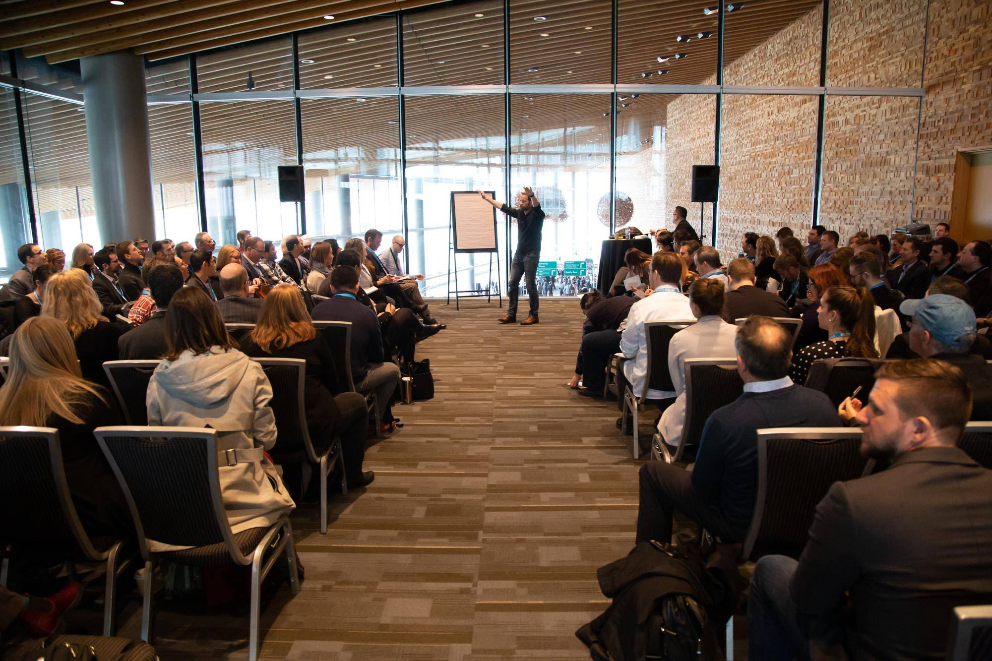 BC Tech Summit 2019 Day Three, Vancouver Convention Centre, Mar 13 2019. Kirk Chantraine photo.