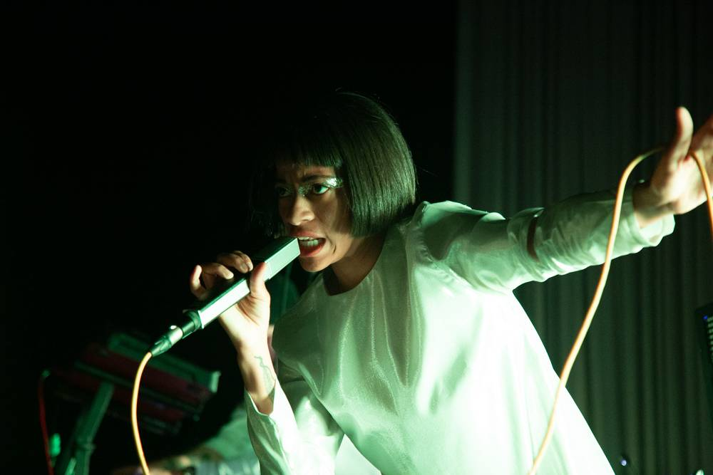 Kilo Kish at the Imperial, Vancouver, Mar 23 2019. Kirk Chantraine photo.