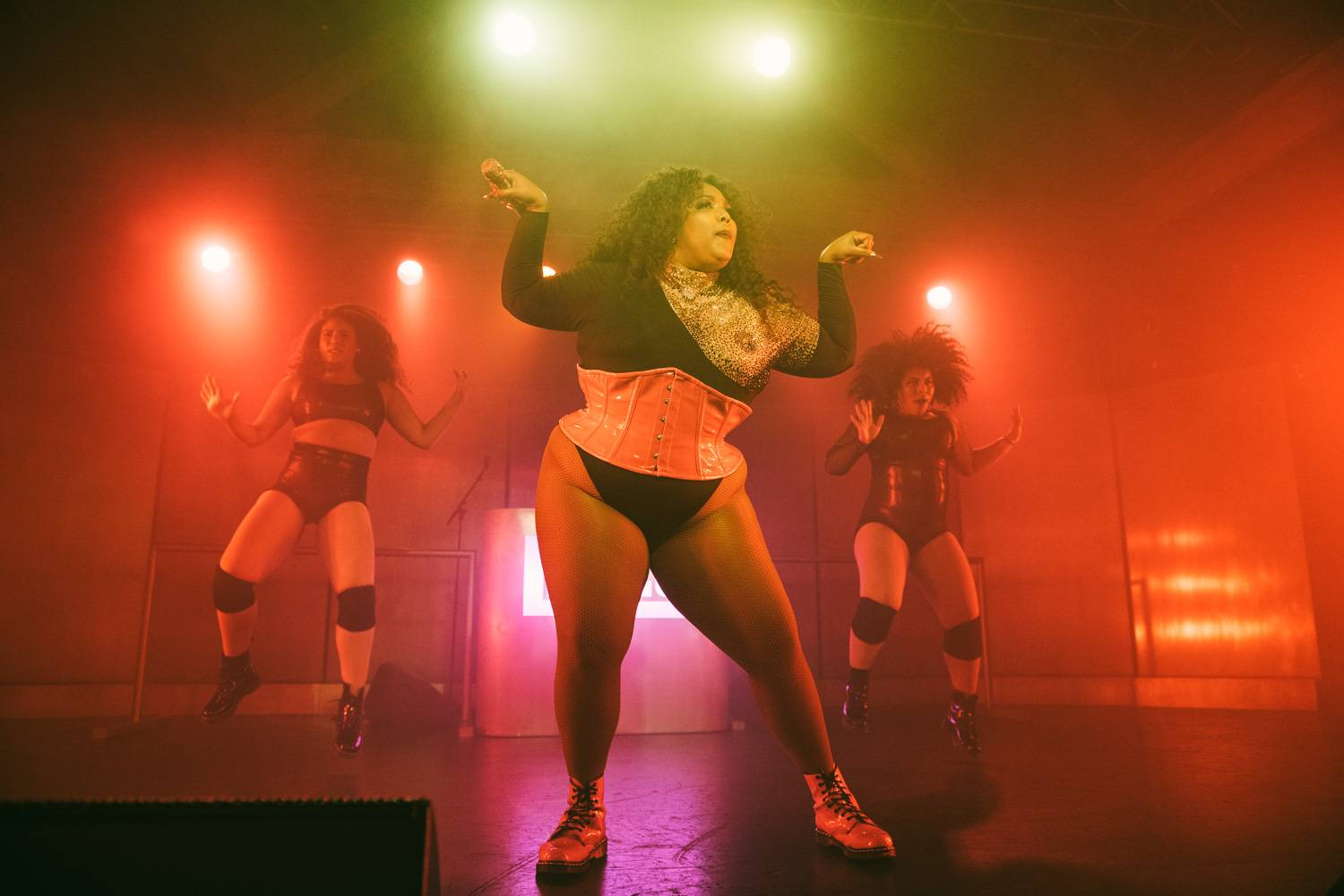 Lizzo at the Showbox SoDo, Apr 28 2019. Pavel Boiko photo.