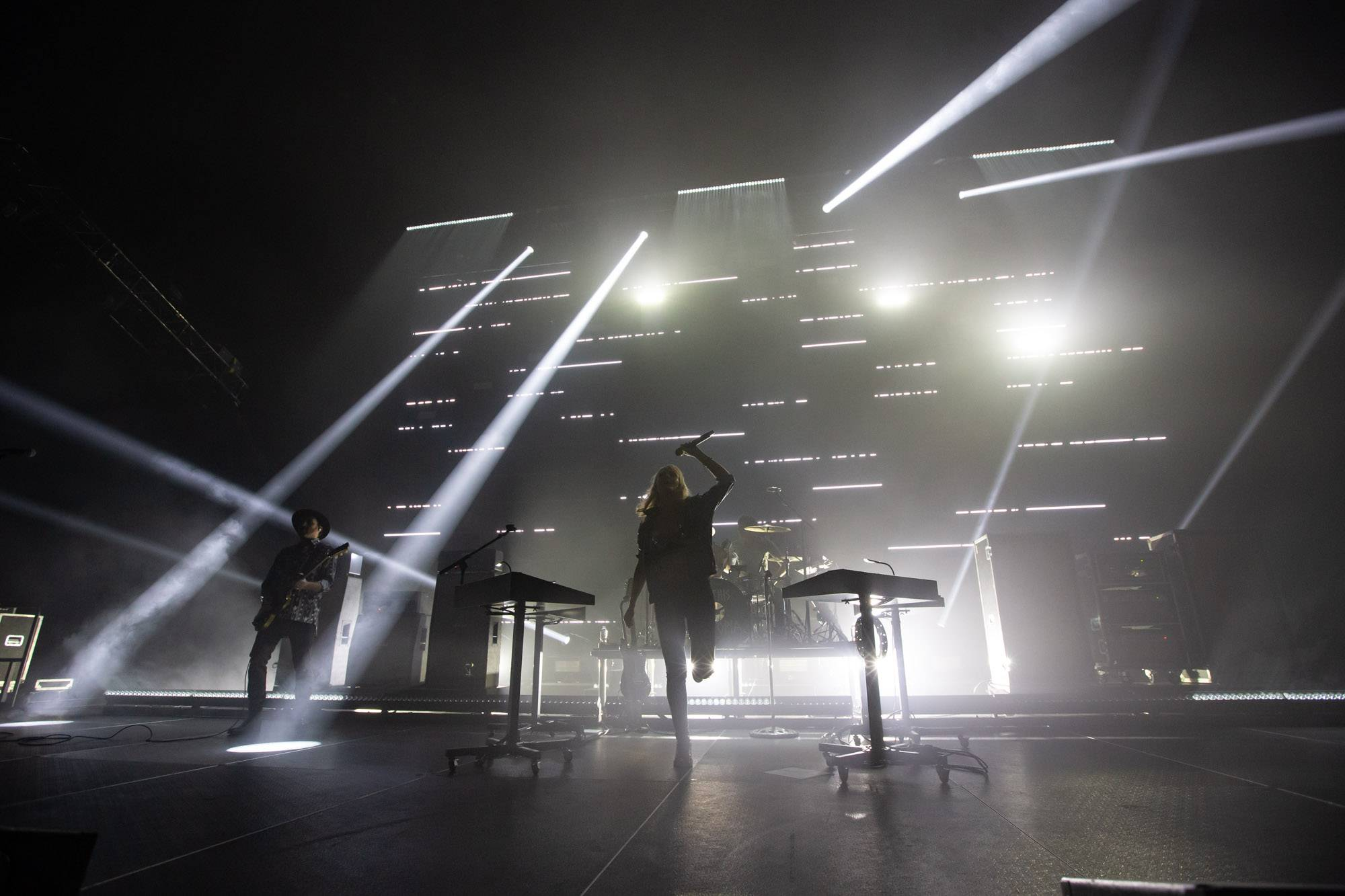 Metric at the Pacific Coliseum, Vancouver, Apr 18 2019. Kirk Chantraine photo.
