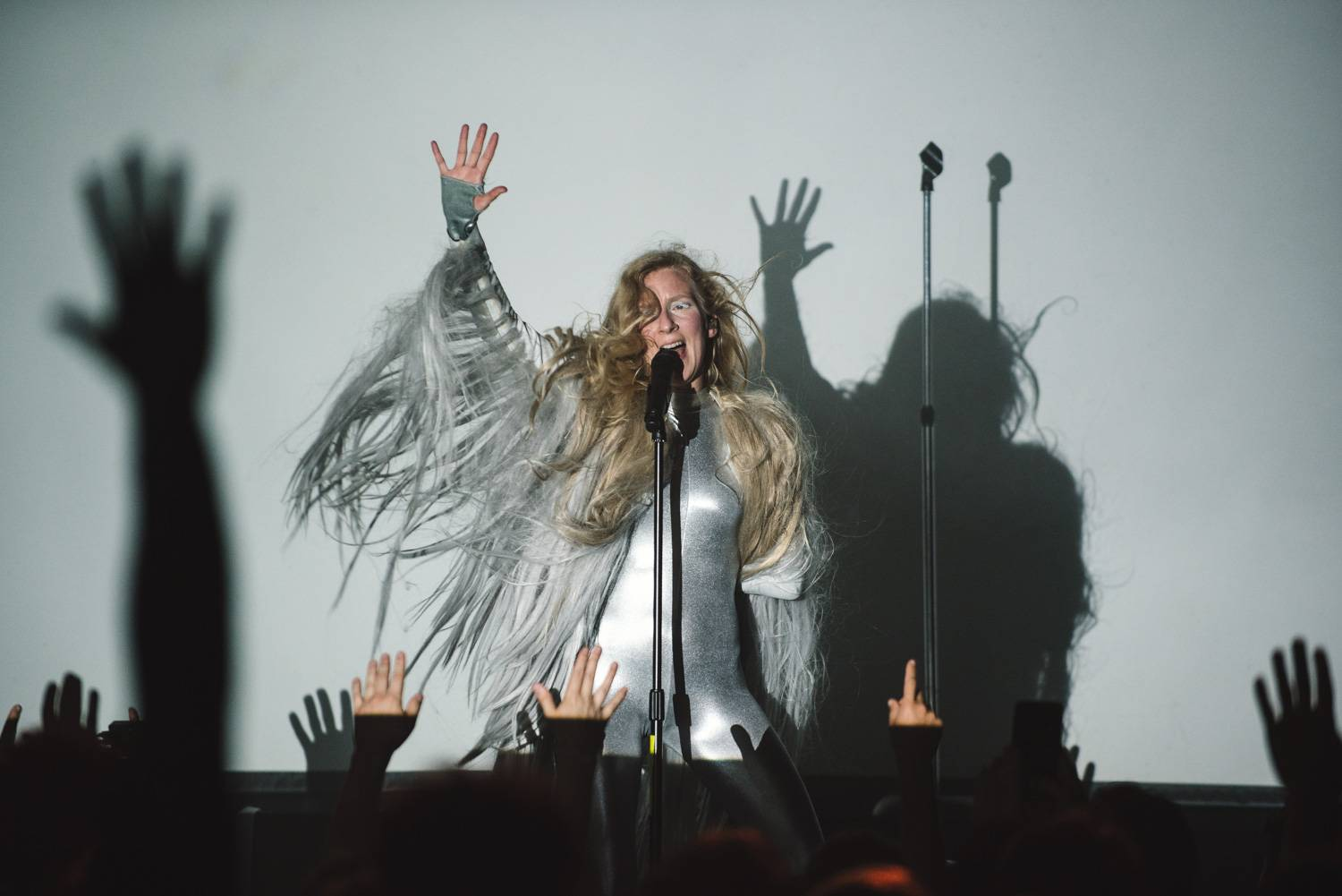 ionnalee | iamamiwhoami at the Venue, Vancouver, May 4 2019. Pavel Boiko photo.