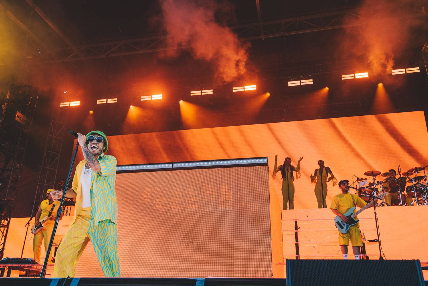 Anderson .Paak at the PNE Amphitheater, Vancouver, June 19 2019. Pavel Boiko photo.