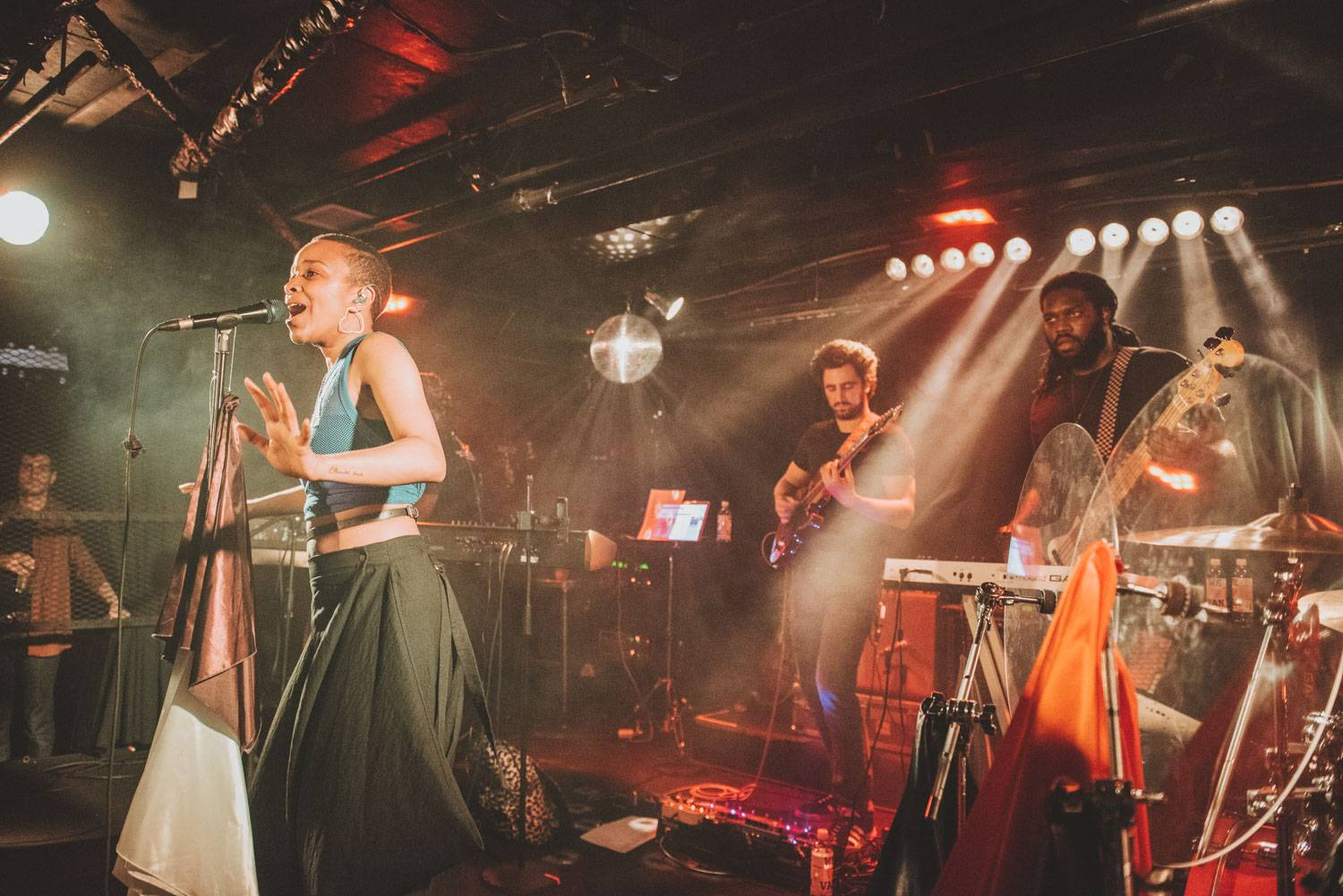 Jamila Woods at the Biltmore Cabaret, Vancouver, June 27 2019. Pavel Boiko photo.