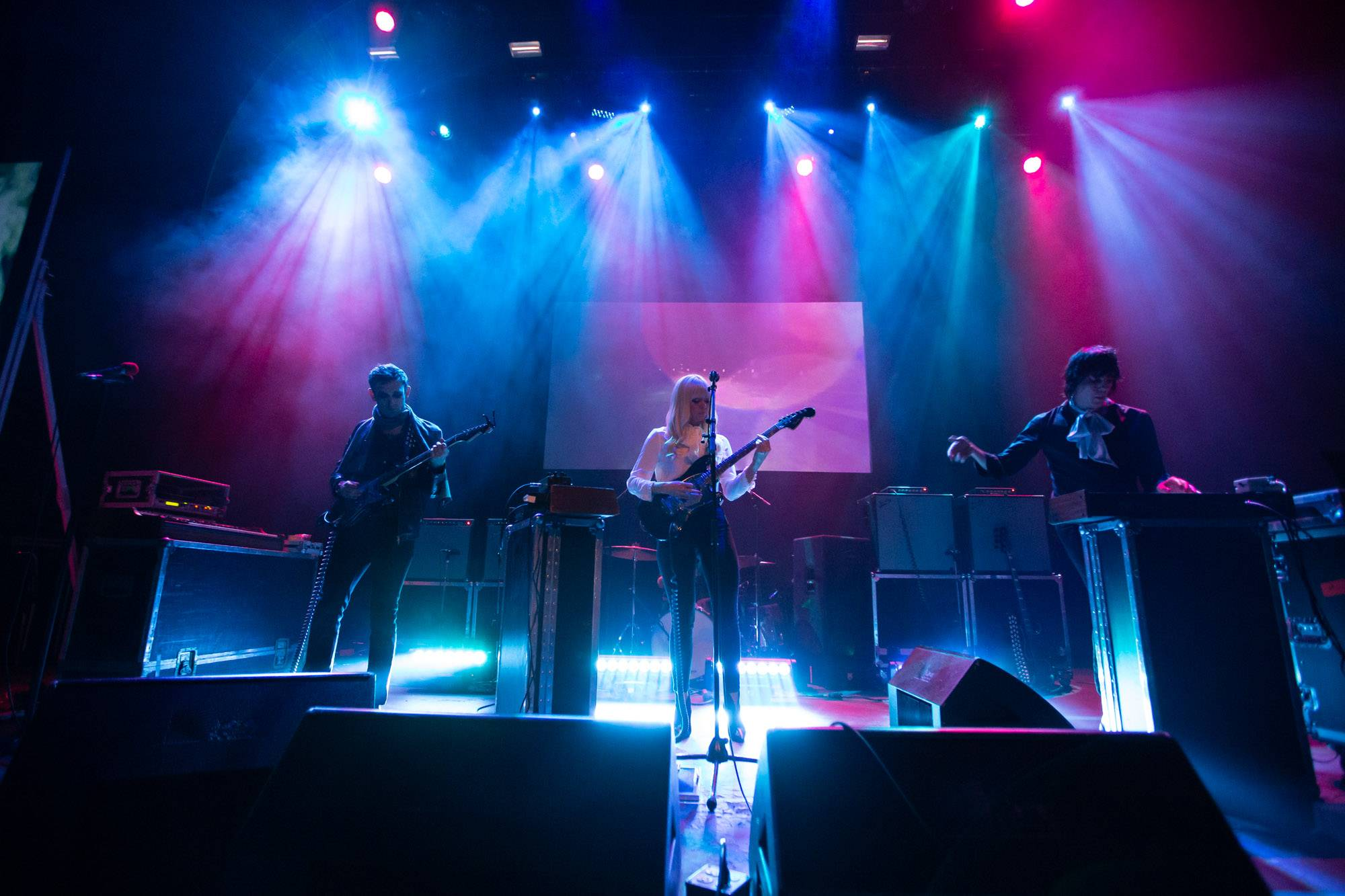 Chromatics at the Vogue Theatre, Vancouver, Jun 6 2019. Kirk Chantraine photo.
