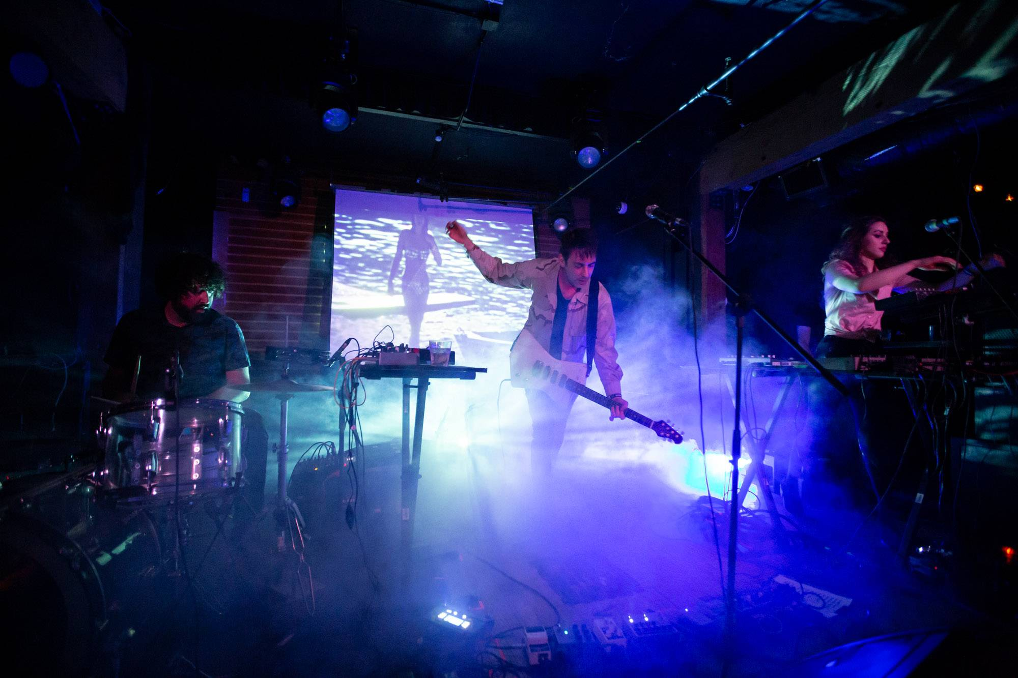Operators Performing Handsome Furs at Fortune Sound Club, Vancouver, Jun 7 2019. Kirk Chantraine photo.