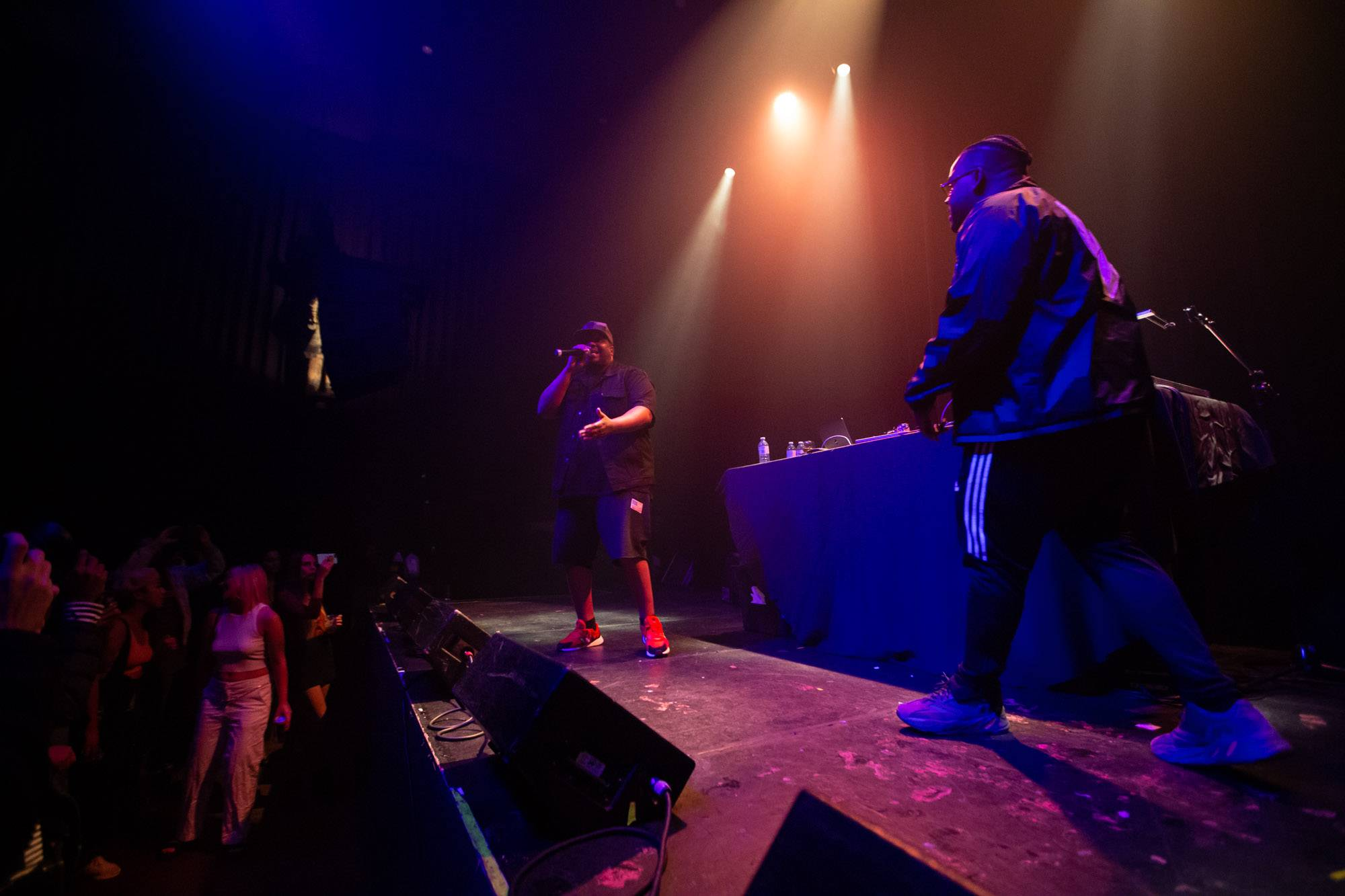 Slum Village at the Imperial, Vancouver, Jun 25 2019. Kirk Chantraine photo.