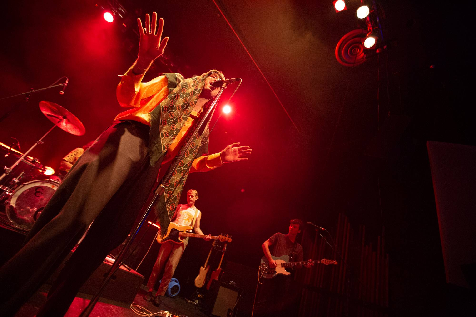Deerhunter at the Rickshaw Theatre, Vancouver, Jul 22 2019. Kirk Chantraine photo.
