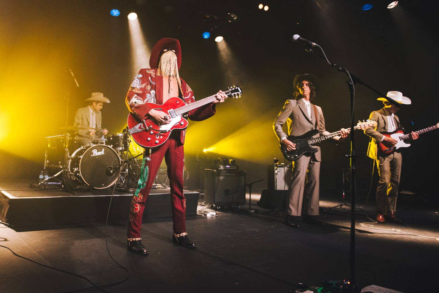 Orville Peck at the Commodore Ballroom, Vancouver, Aug 26 2019. Pavel Boiko photo.