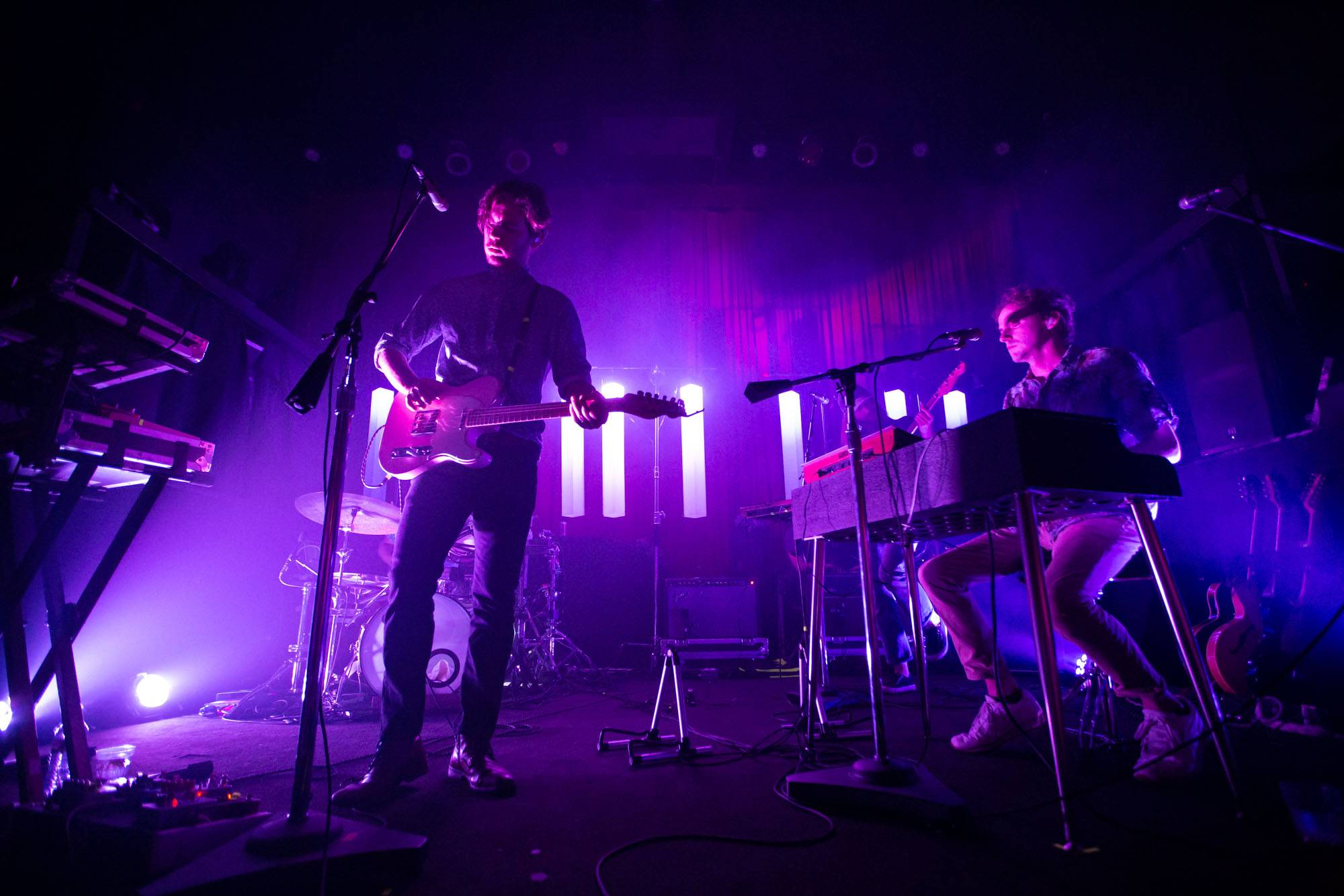 Generationals at The Fox Cabaret, Vancouver, Aug 27 2019. Kirk Chantraine photo.